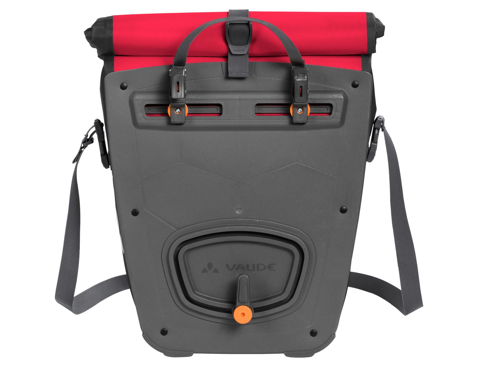 Fahrradtasche Aqua Back  Made in Germany 48 Liter - Red