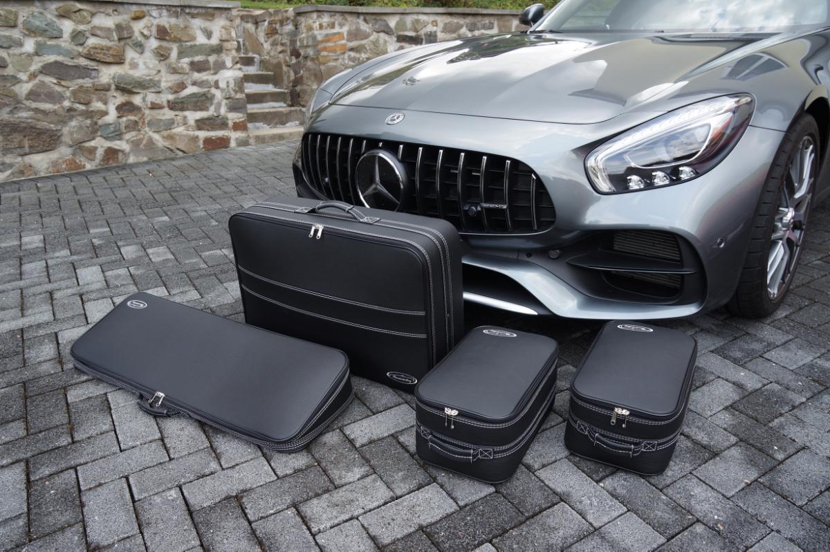 4-tlg. Kofferset Mercedes AMG GT Roadster 110 Liter