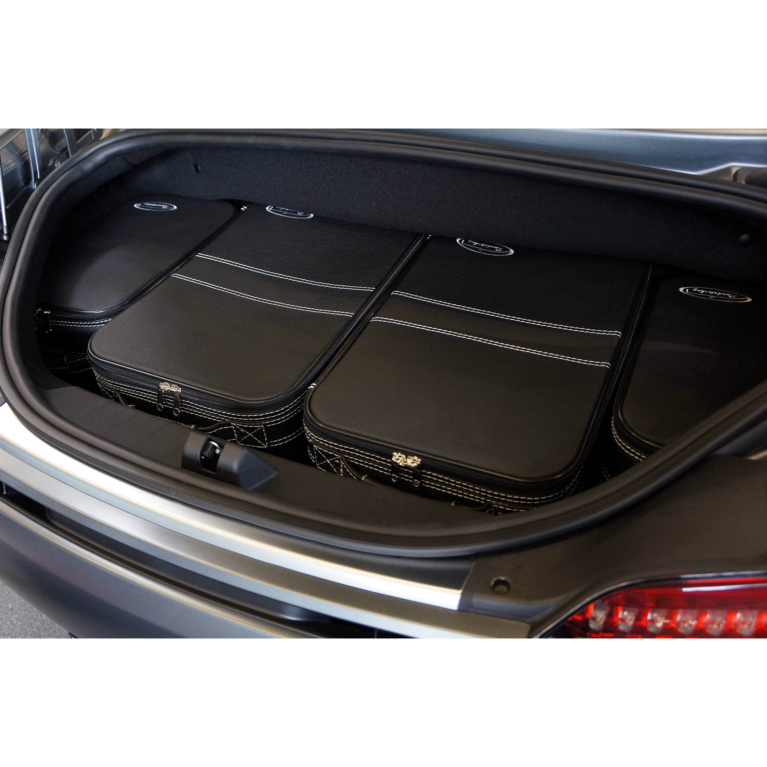 6-tlg. Kofferset mit 2 Rollen Mercedes AMG GT Roadster XXL 99 Liter