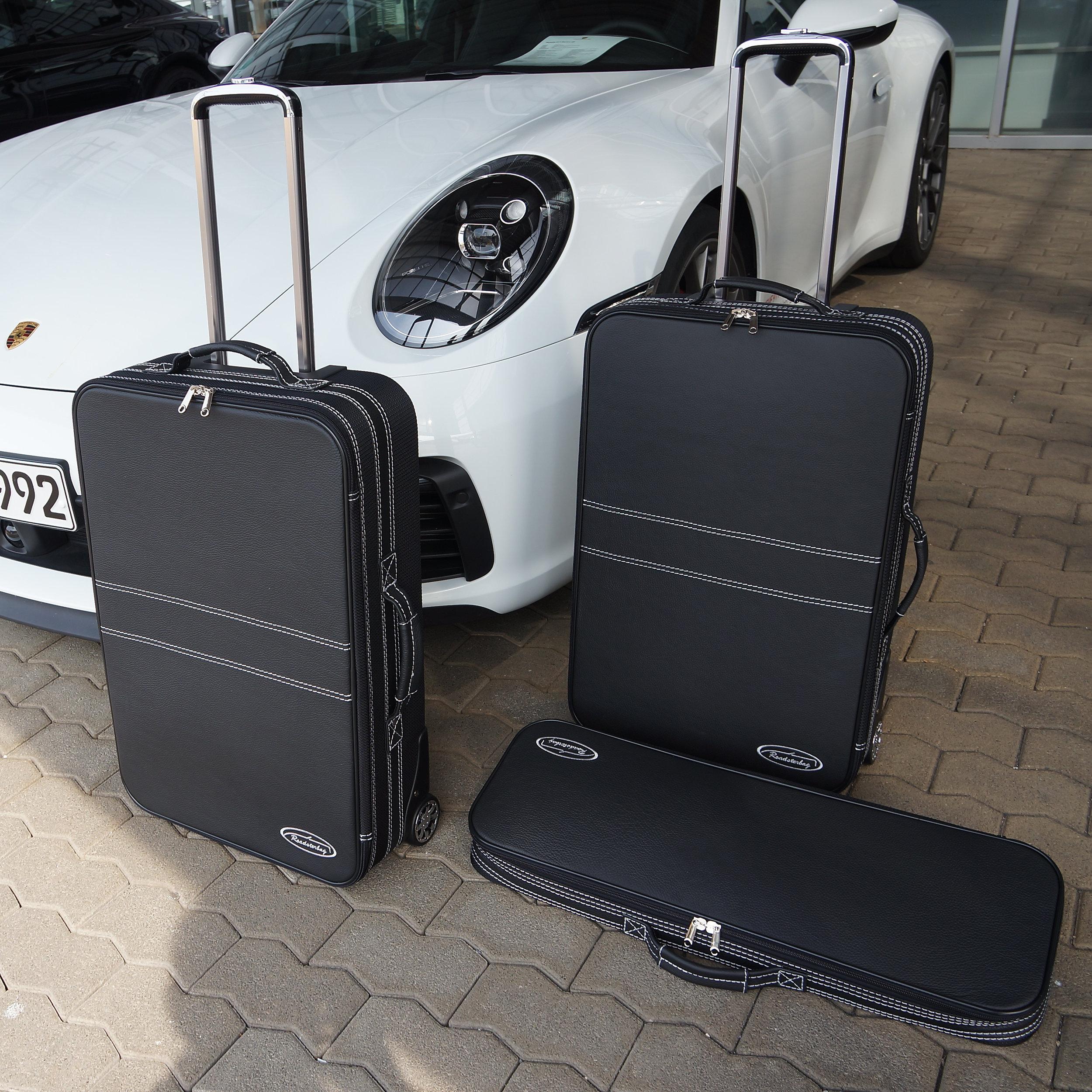 3-tlg. Kofferset mit 2 Rollen Porsche Boxster (981+982) Front 103 Liter