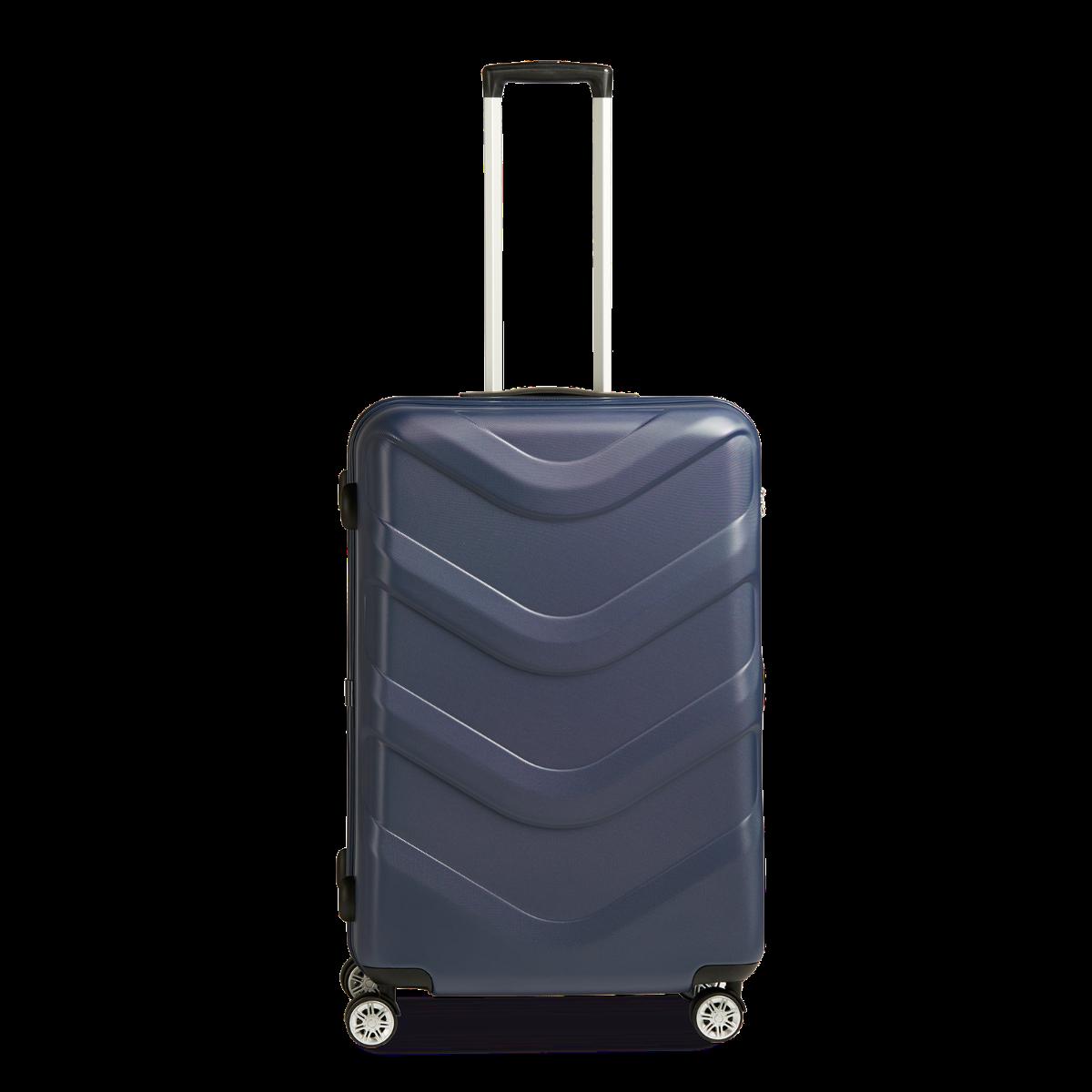Hartschalen-Koffer L mit 4 Rollen, 76 cm, 102 Liter Arrow 2 - Blue