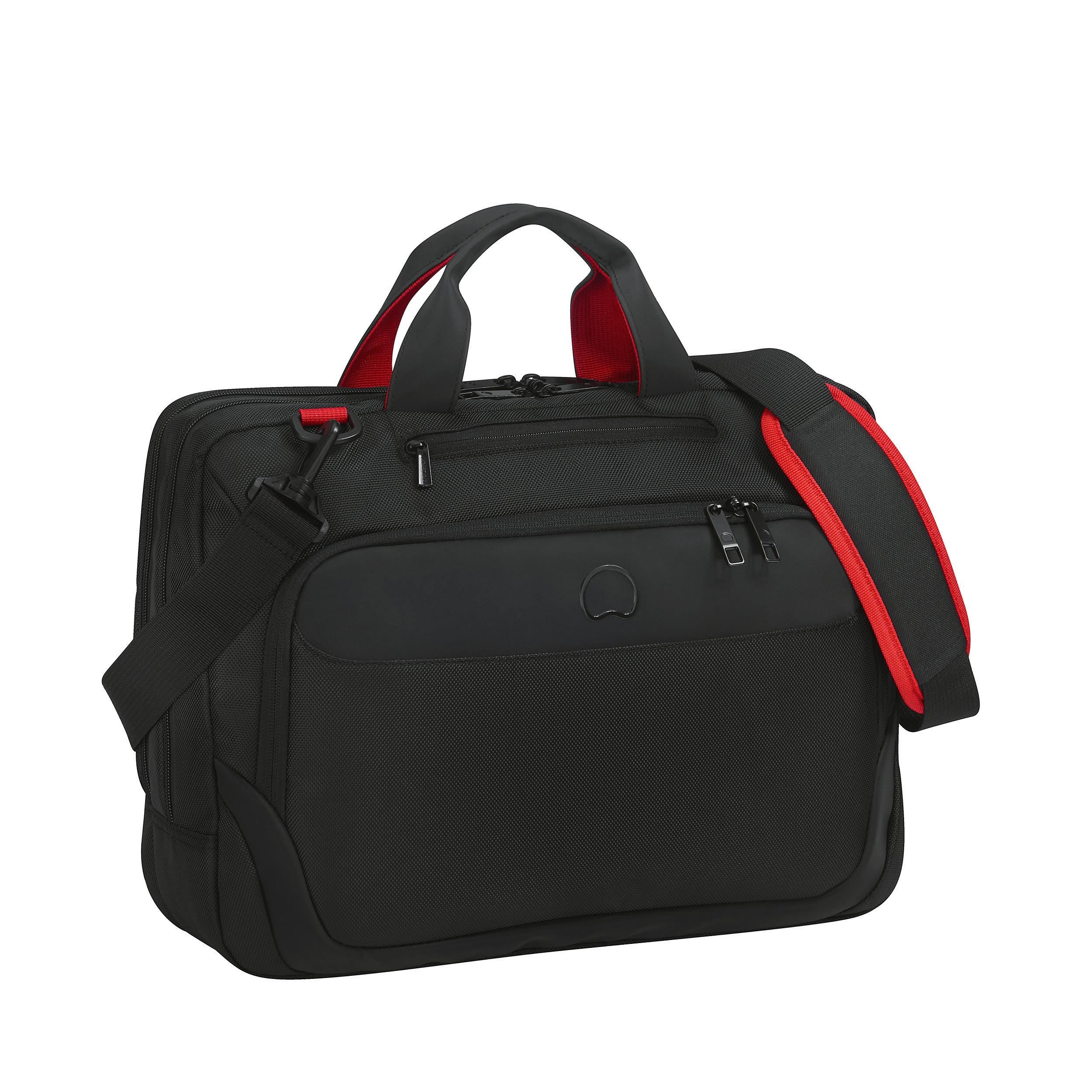 """Briefcase 2 main compartments 15,6"""" Parvis Plus"""