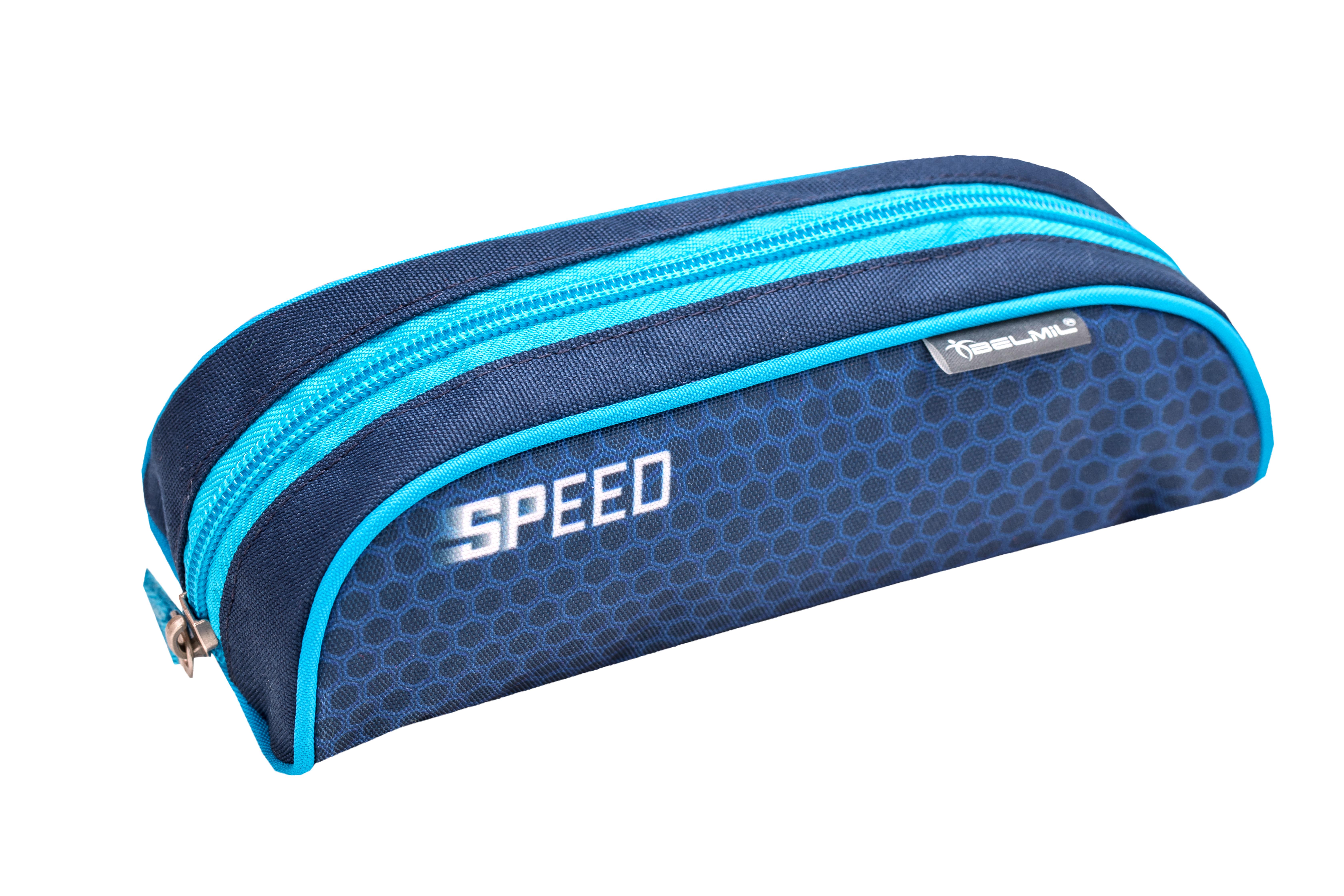 4-tlg. Schulranzenset Compact 19 Liter - Race Blue