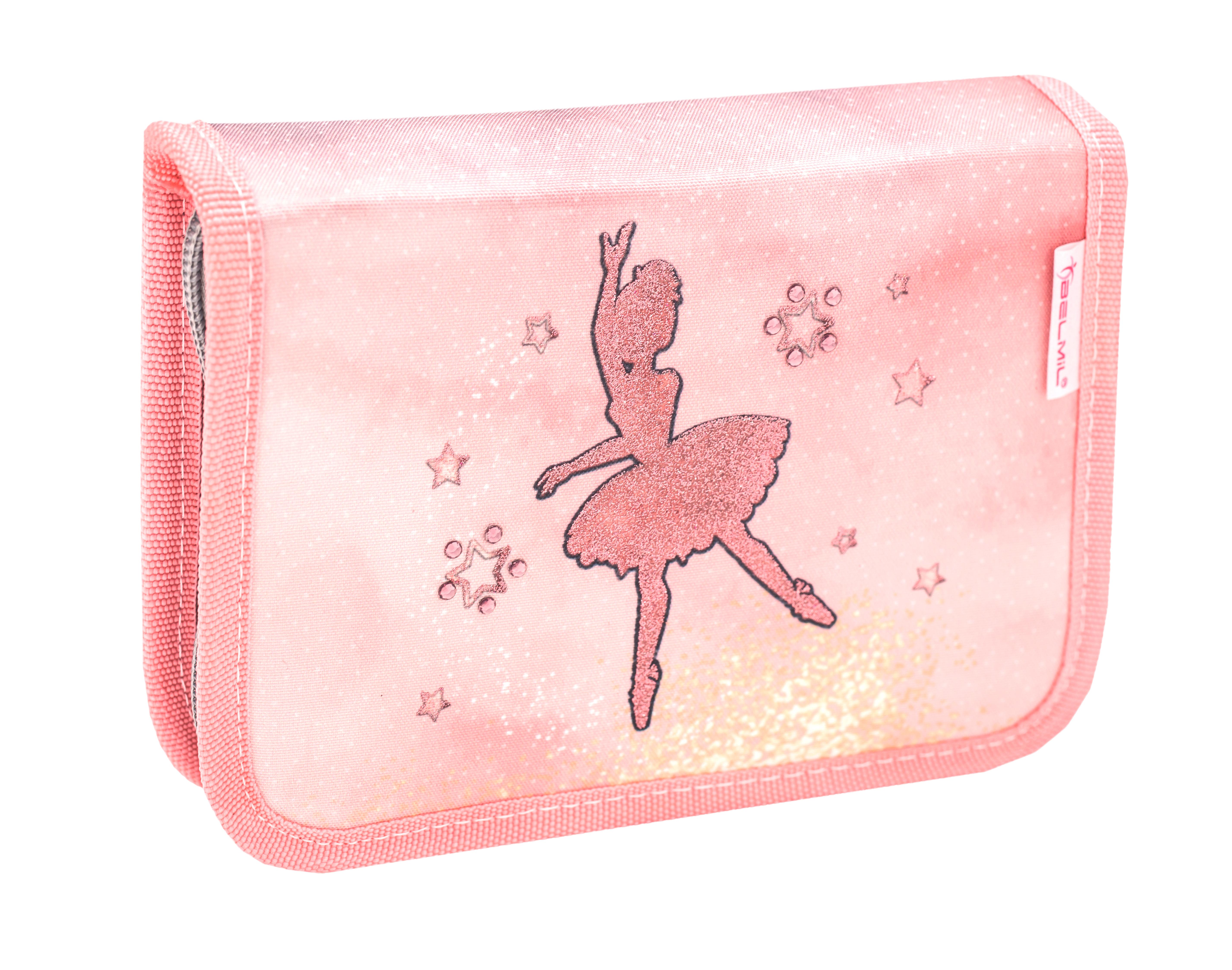 4-tlg. Schulranzenset Compact 19 Liter - Ballerina Black Pink