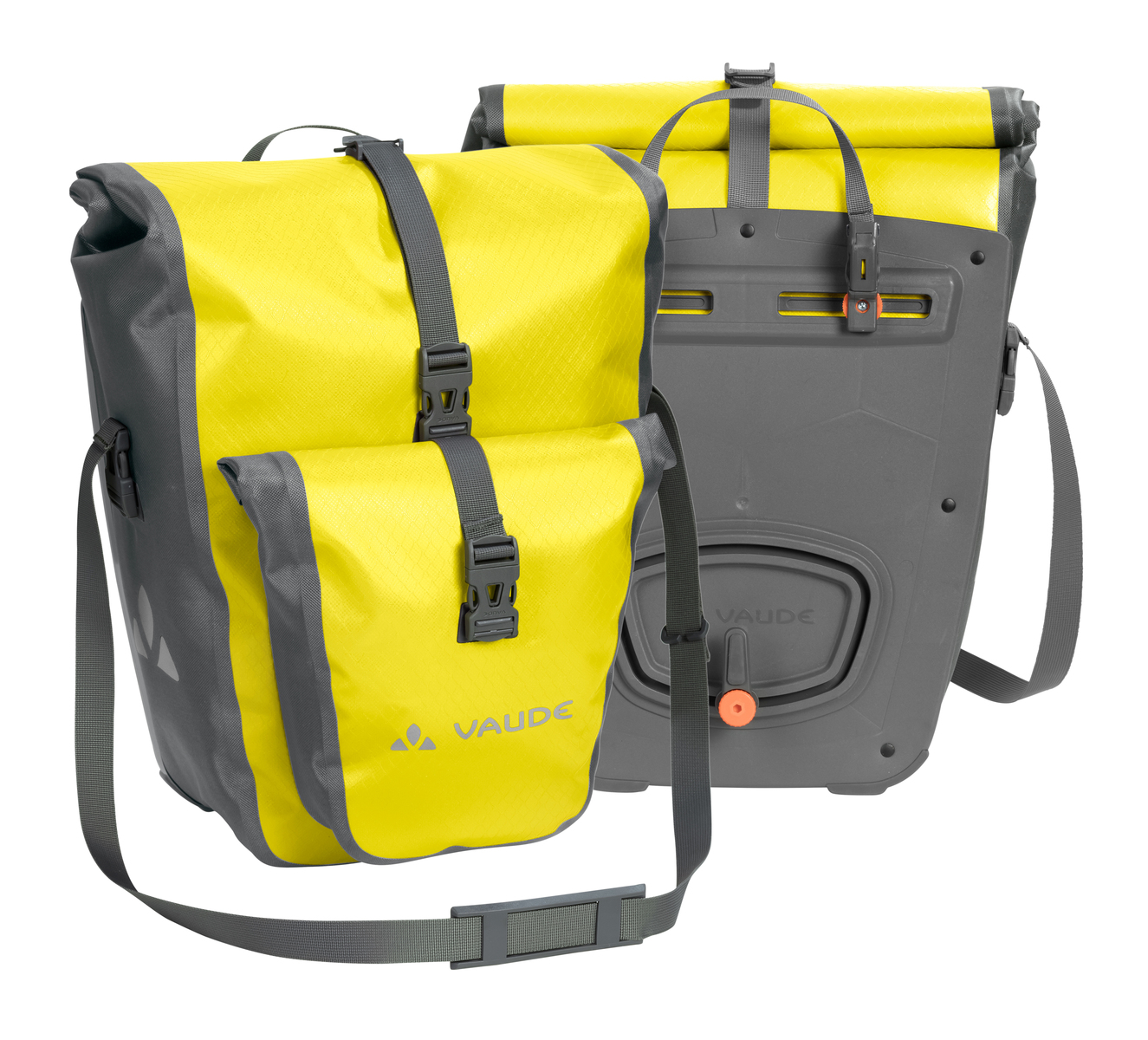 Fahrradtasche Aqua Back Plus  Made in Germany 51 Liter - Canary