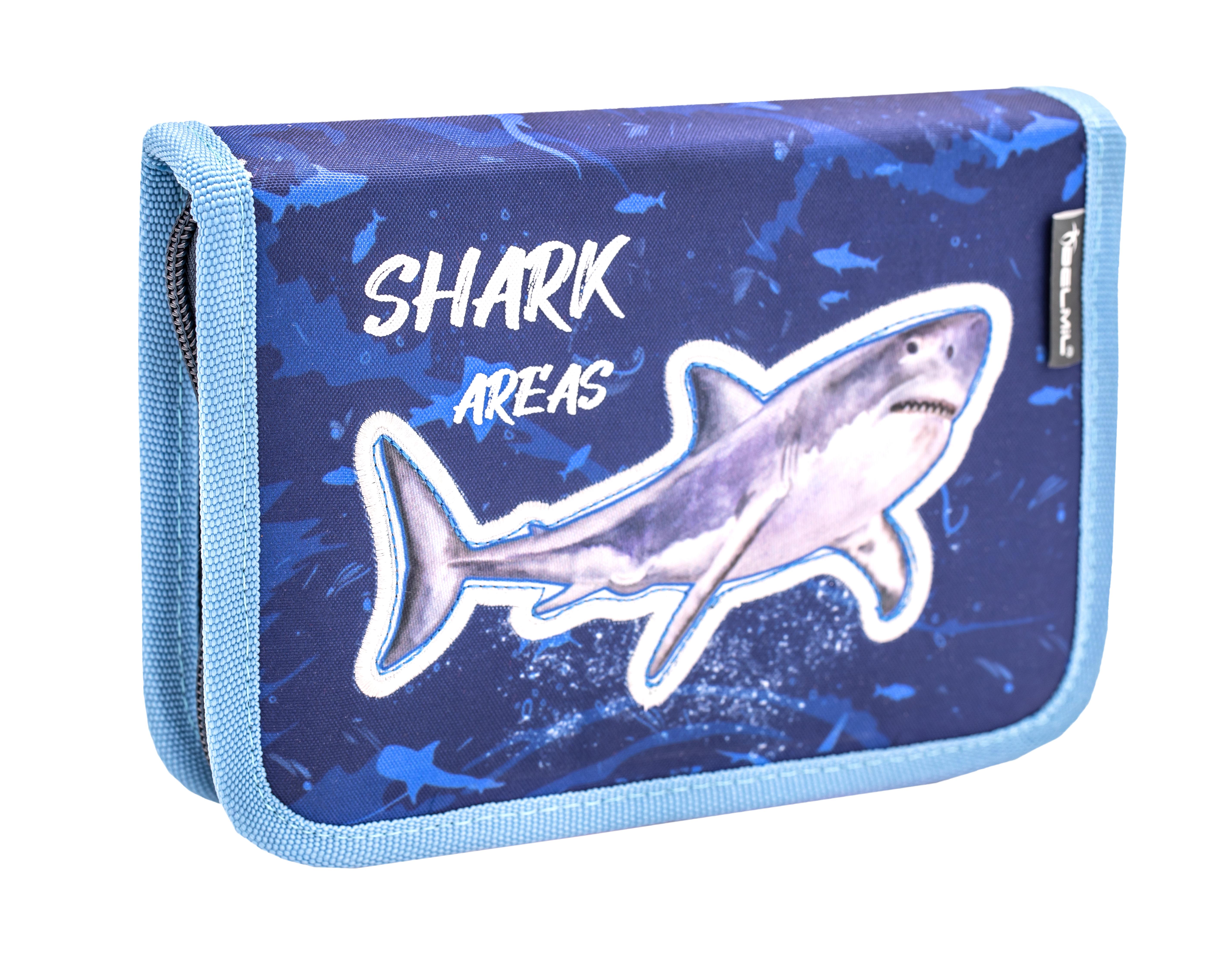 4-tlg. Schulranzenset Customize-Me 19 Liter - Shark 2