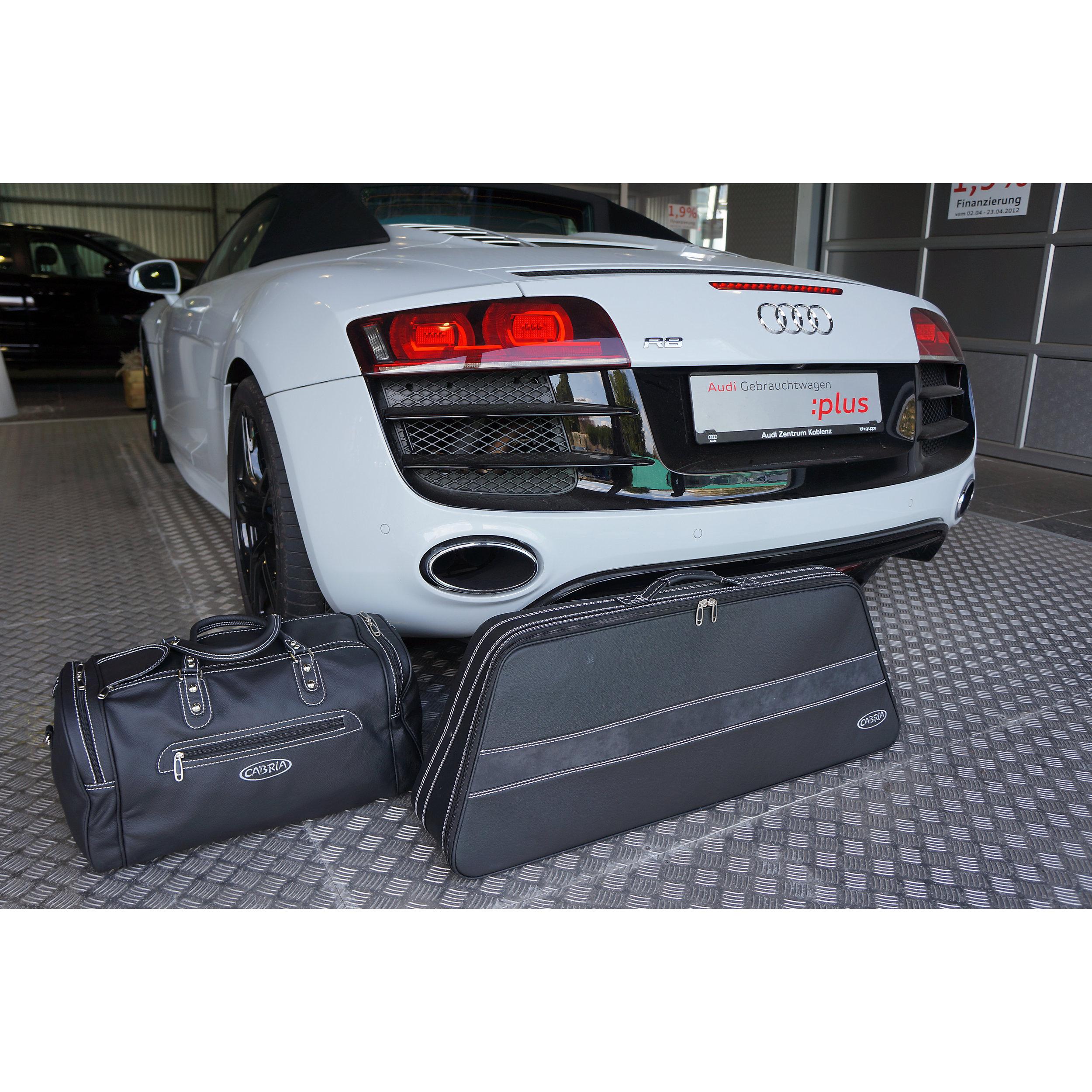 2-tlg. Kofferset Audi R8 Spyder/Roadster 76 Liter