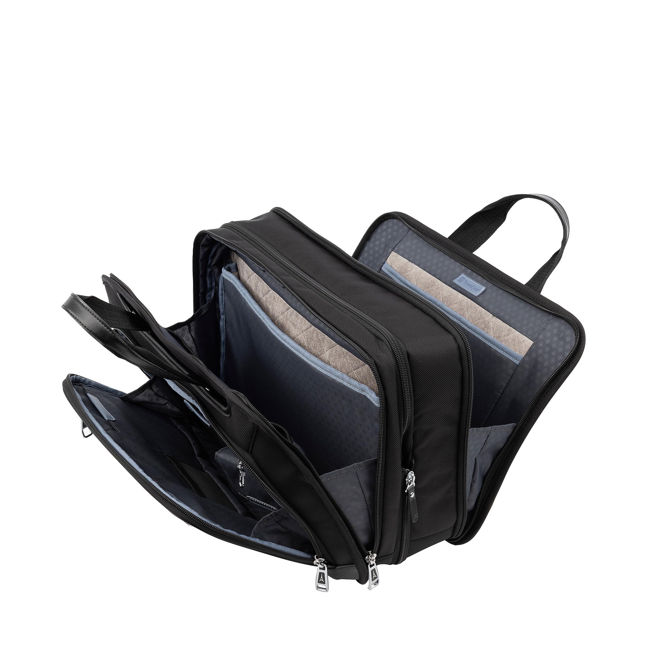 Aktentasche 15,6 Zoll Erweiterbar RFID Platinum Elite Medium 28 Liter