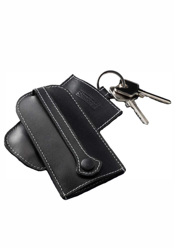 Schlüsseletui Echtleder - Black
