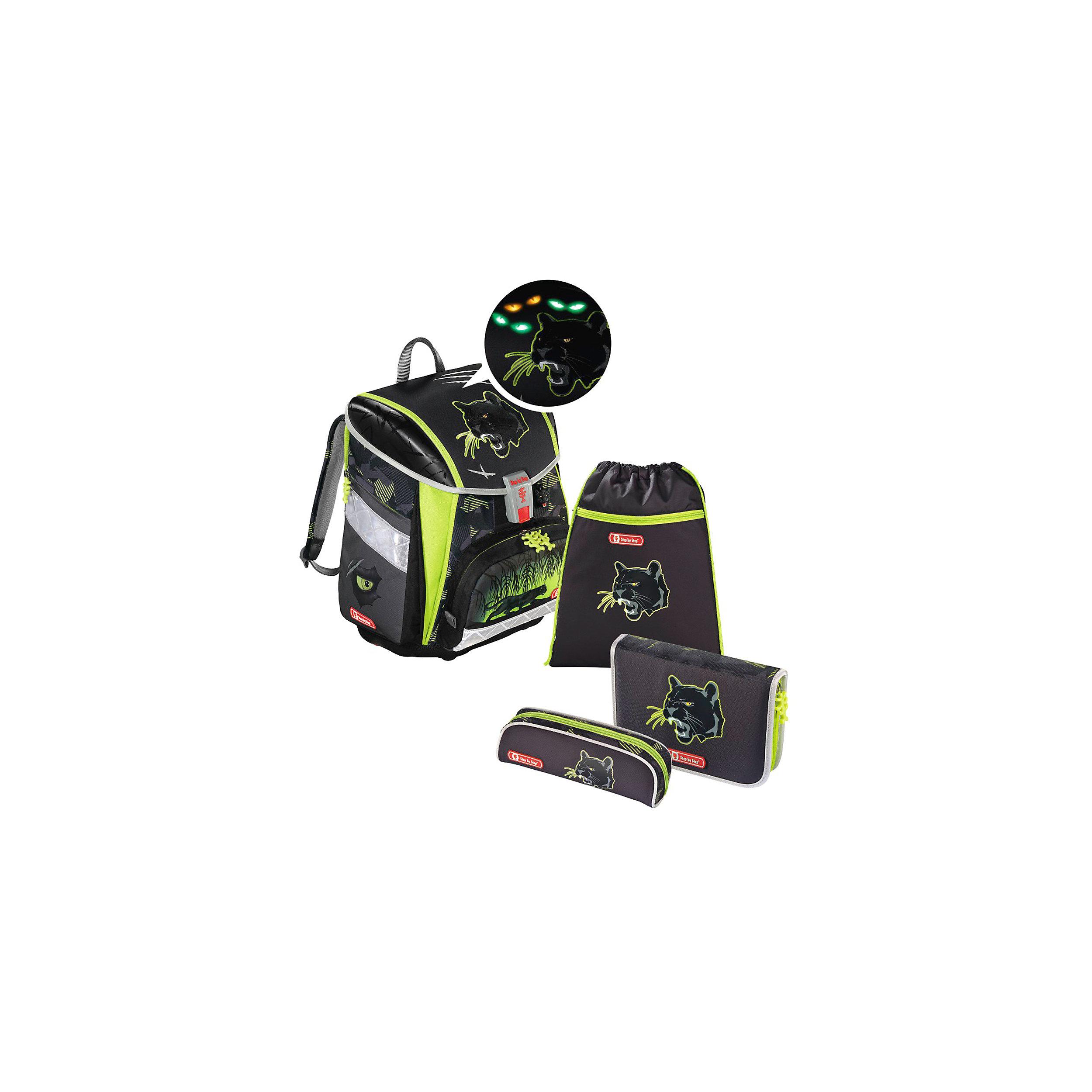 4-tlg. Schulranzenset Limited Edition Touch 2 Flash 21 Liter