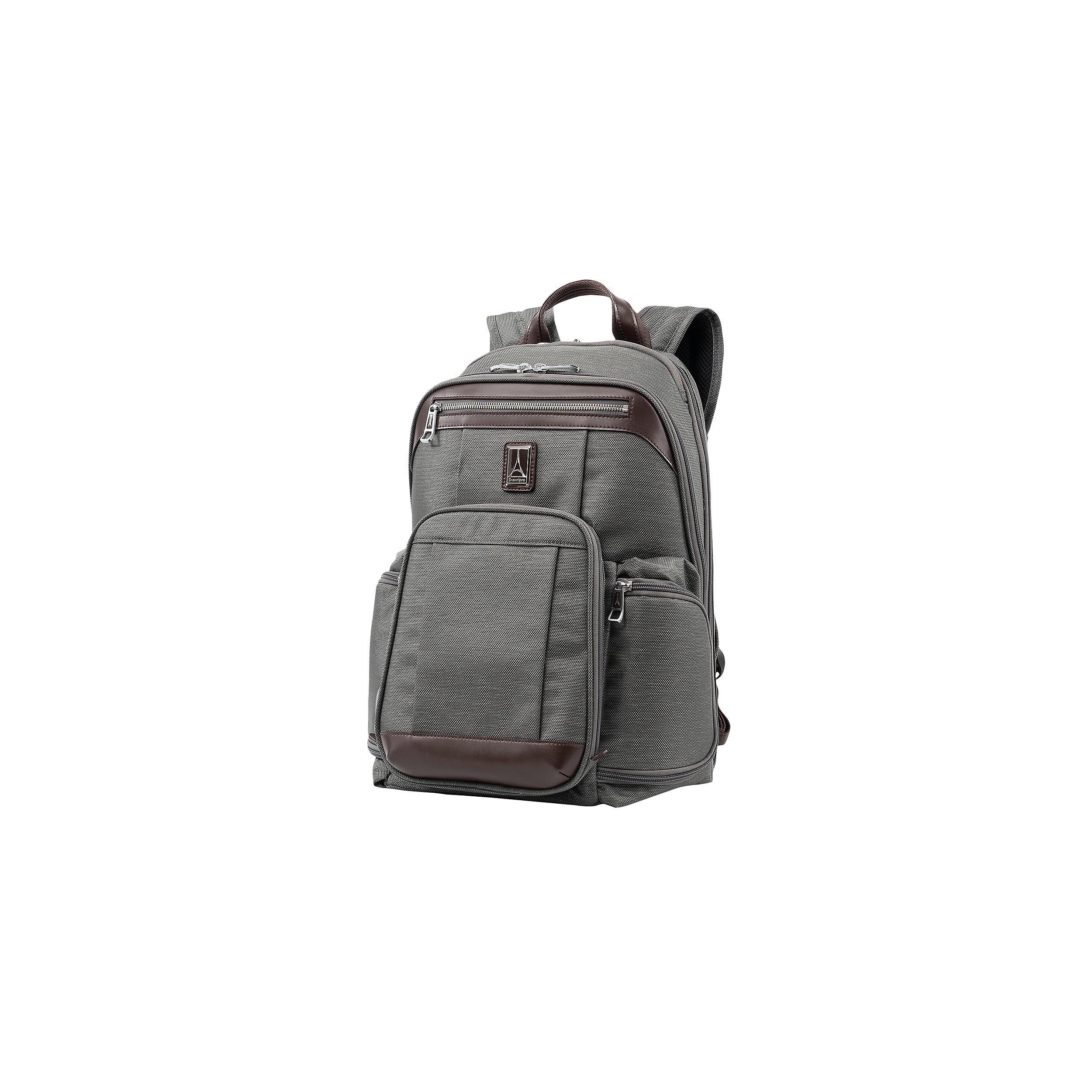 Business Backpack 15.6 Inch RFID Platinum Elite Medium 23 Liter