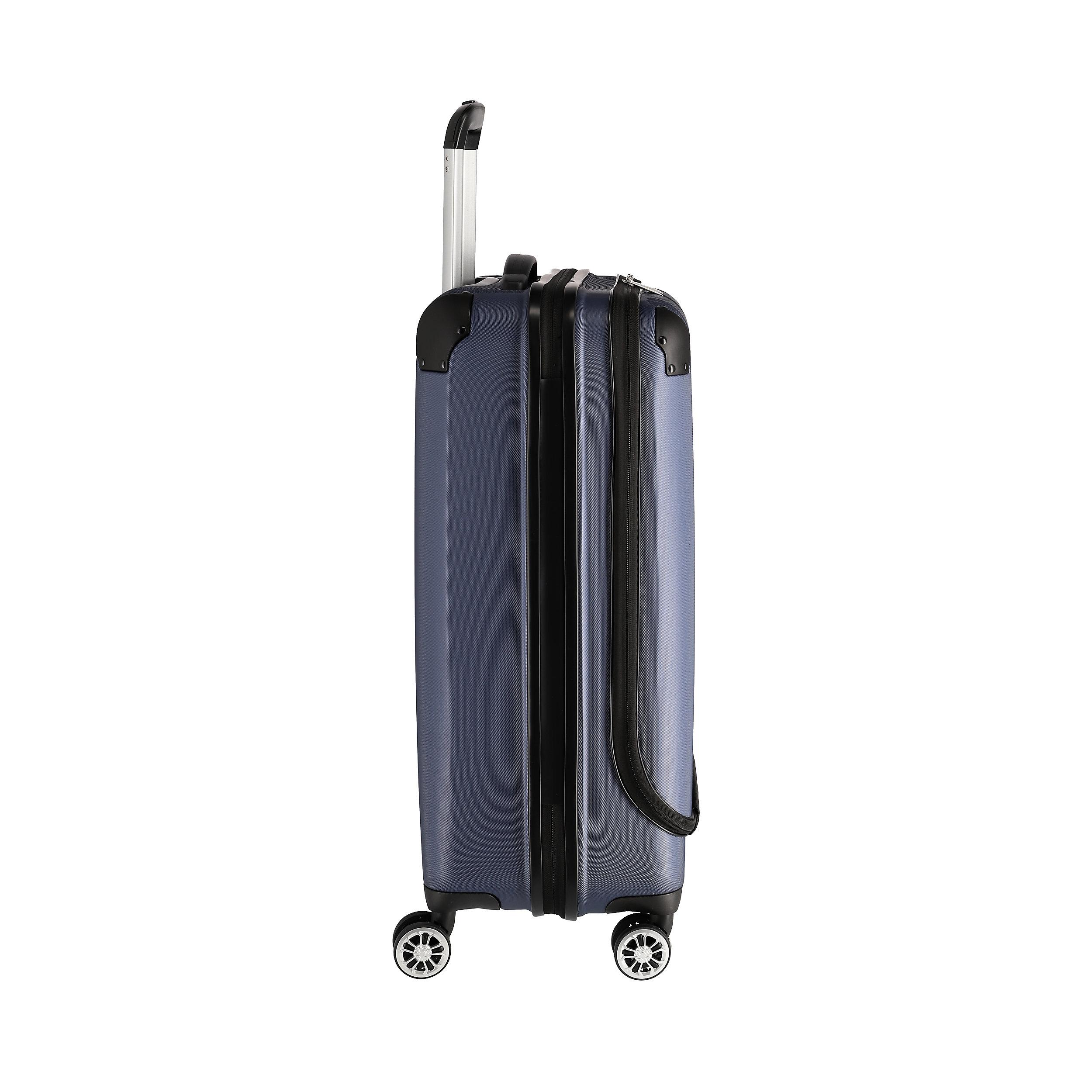 Trolley mit 4 Rollen M 68 cm Business City 44 Liter