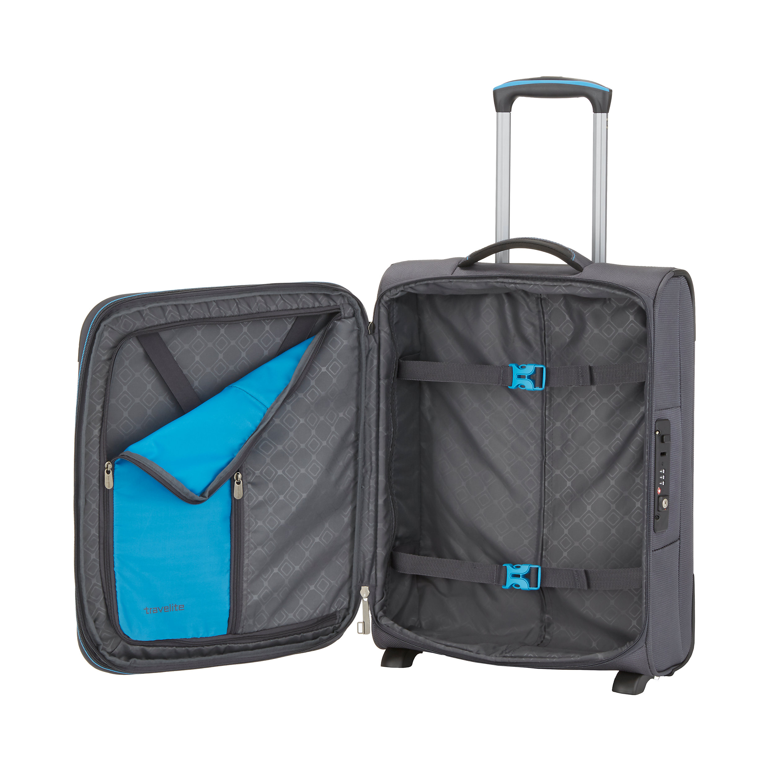 Carry-on Trolley with 2 wheels 54cm S EXP CrossLite 42 Liter