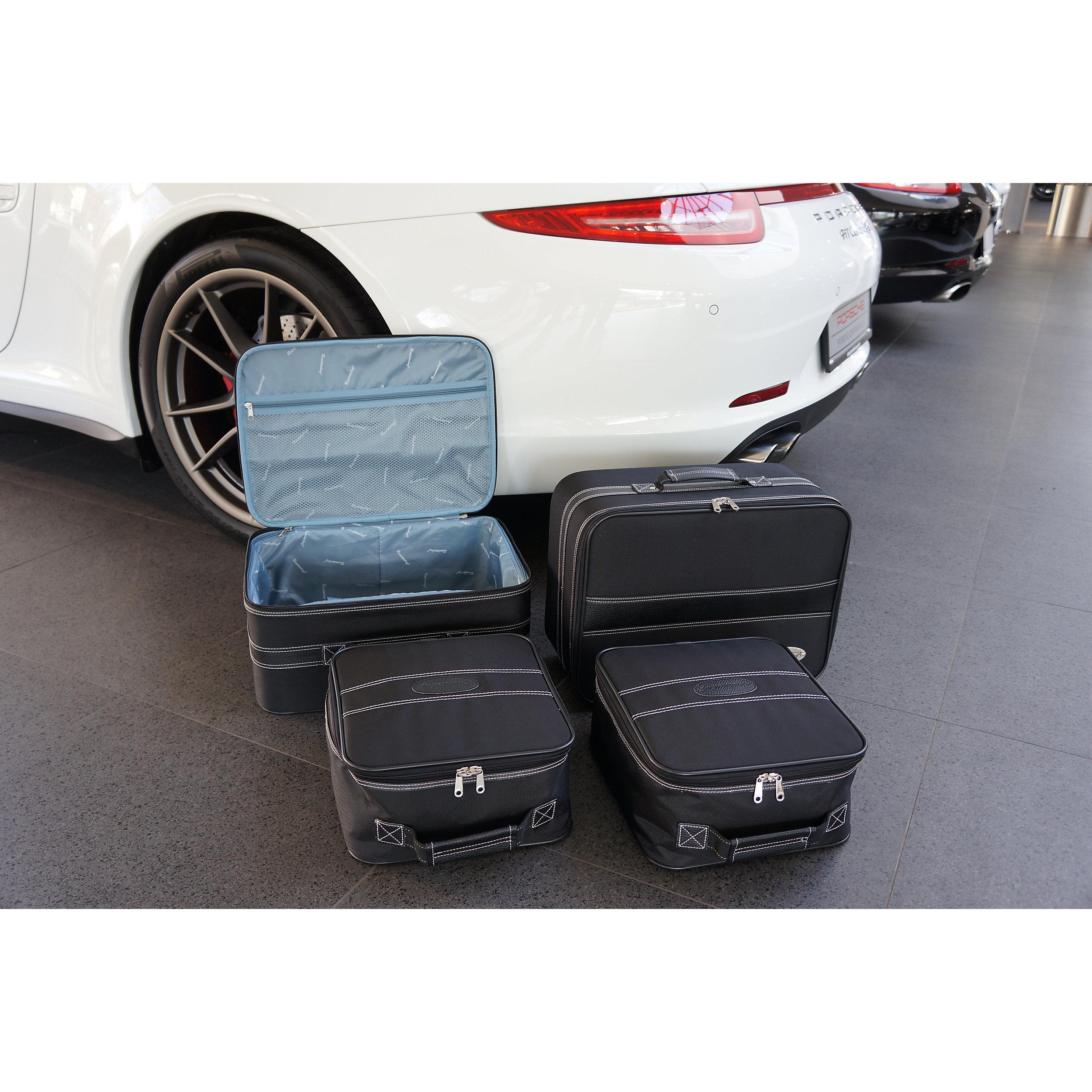 4tlg. Autokofferset Porsche 911 (991+996+997) 88 Liter