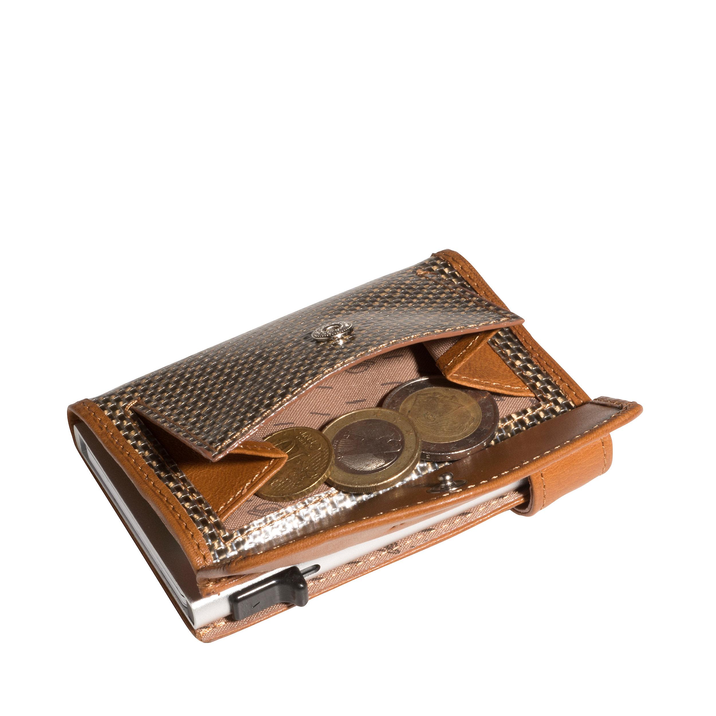 Kreditkartenetui Furbo 7KK RFID Titanium