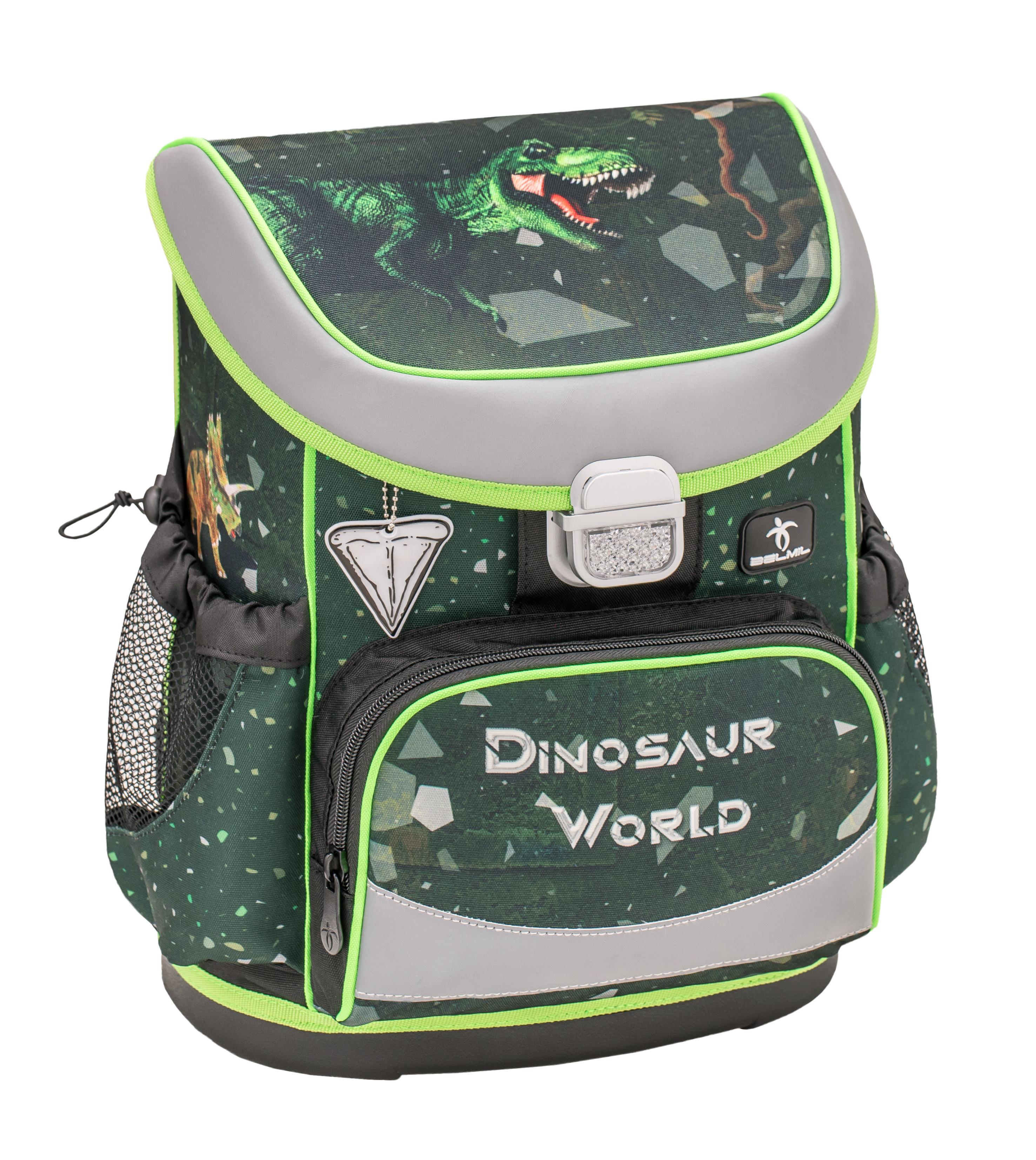 4-tlg. Schulranzenset Mini Fit 17 Liter - Dino Attack