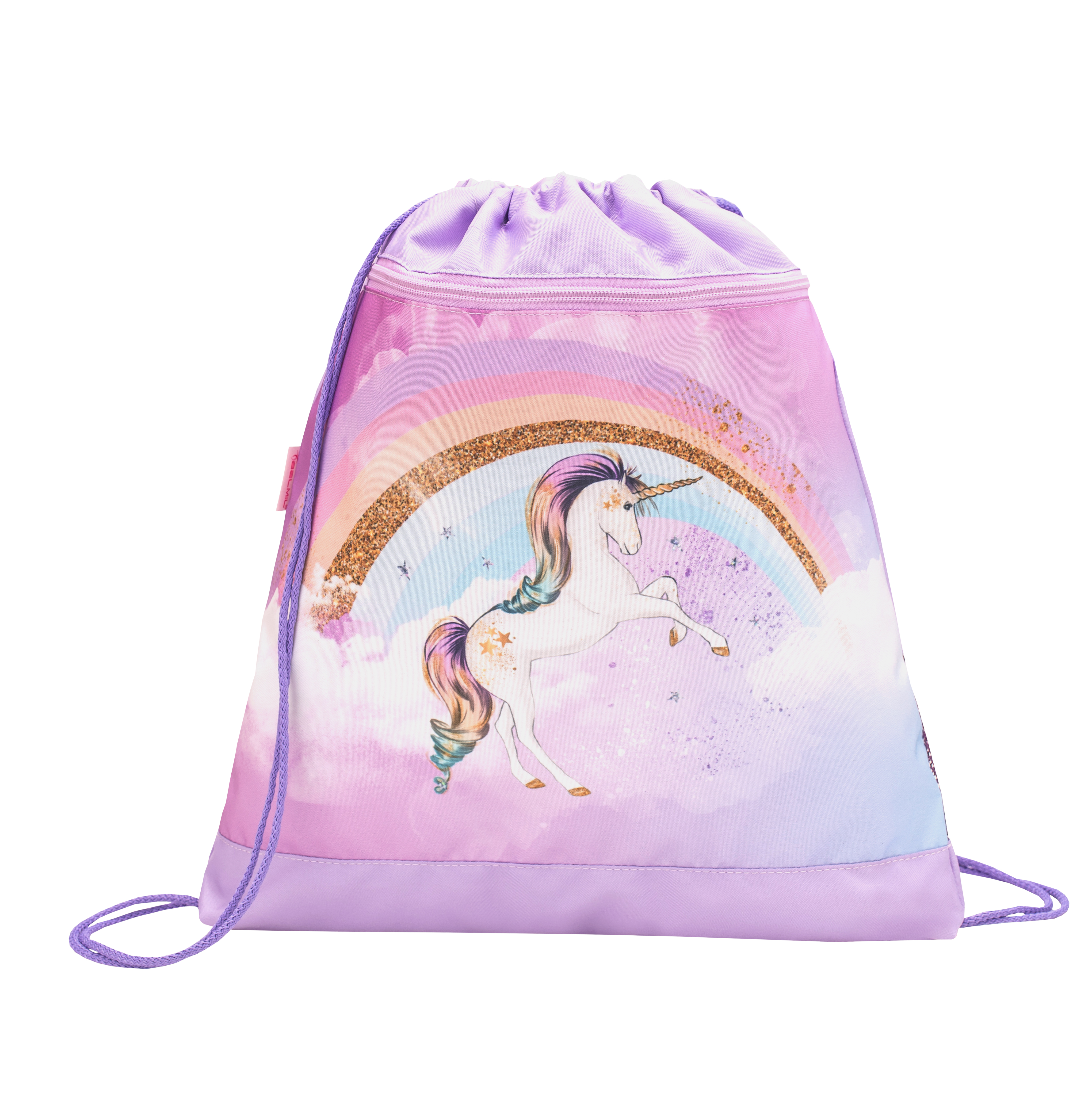 4-tlg. Schulranzenset Customize-Me 19 Liter - Rainbow Unicorn