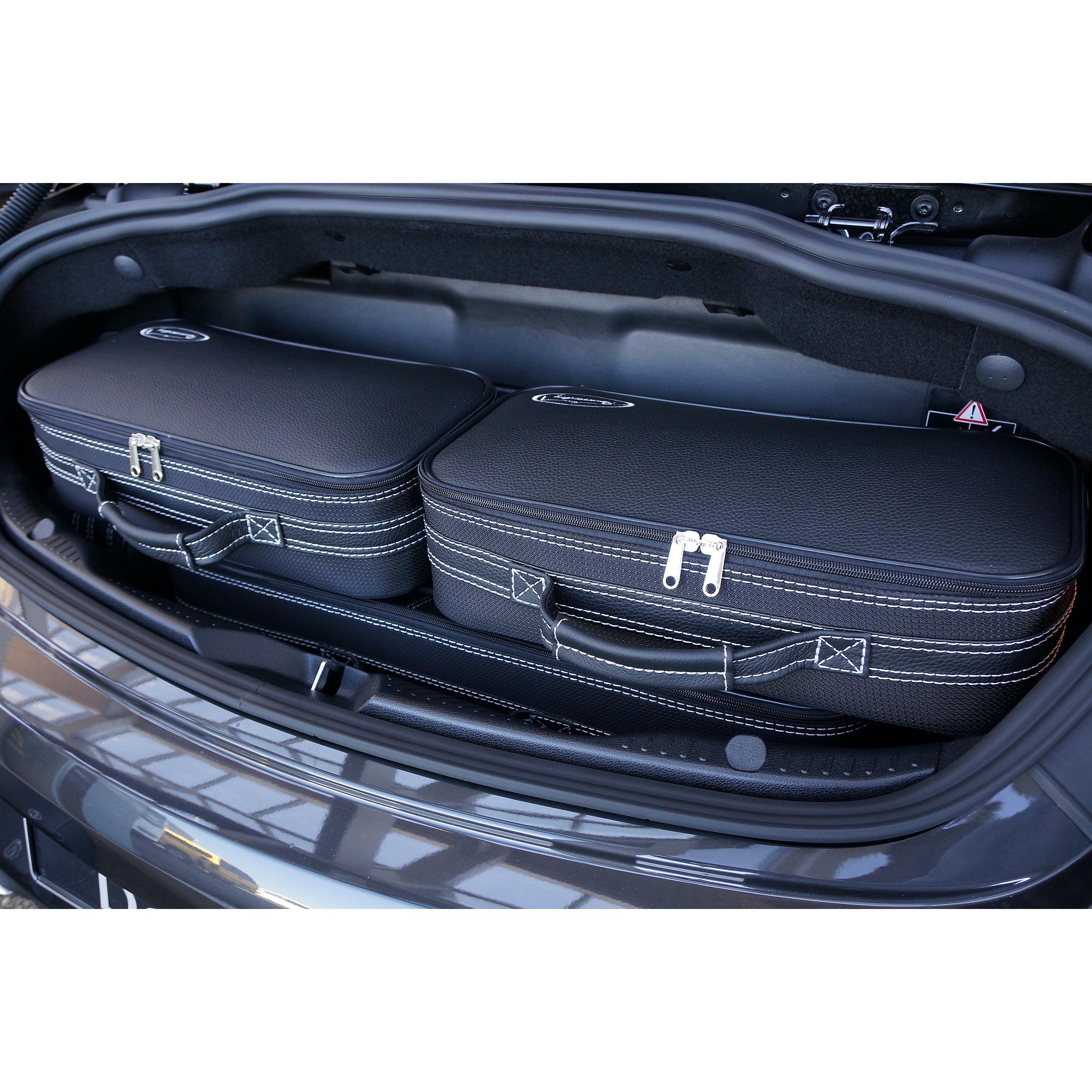 6-tlg. Kofferset mit 2 Rollen Mercedes C-Klasse Cabrio (A205) 155 Liter