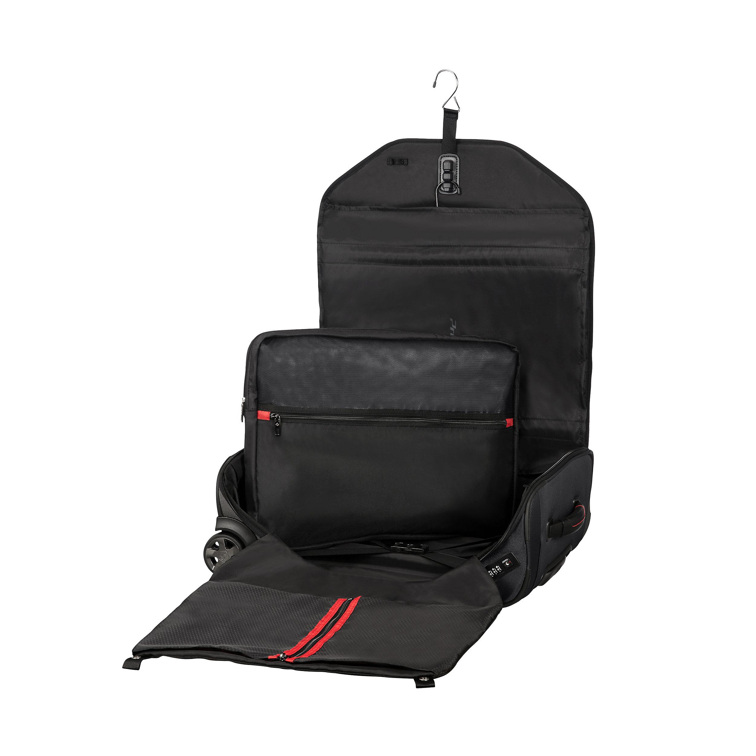 Rollenkleidersack mit 2 Rollen Cabin 55cm Pro-DLX5 S 36 Liter