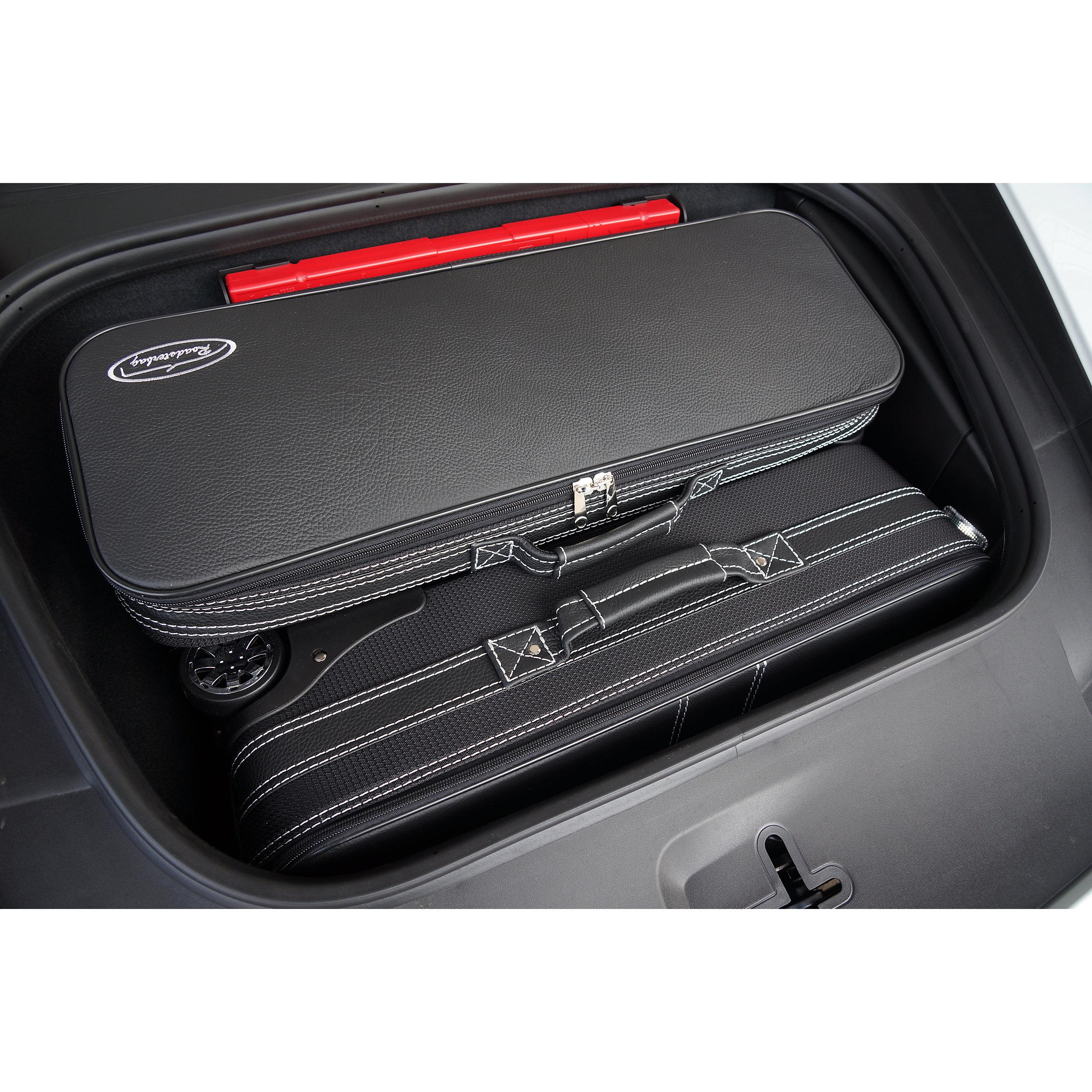 3-tlg. Kofferset mit 2 Rollen Porsche Cayman (981c+718) Front 103 Liter