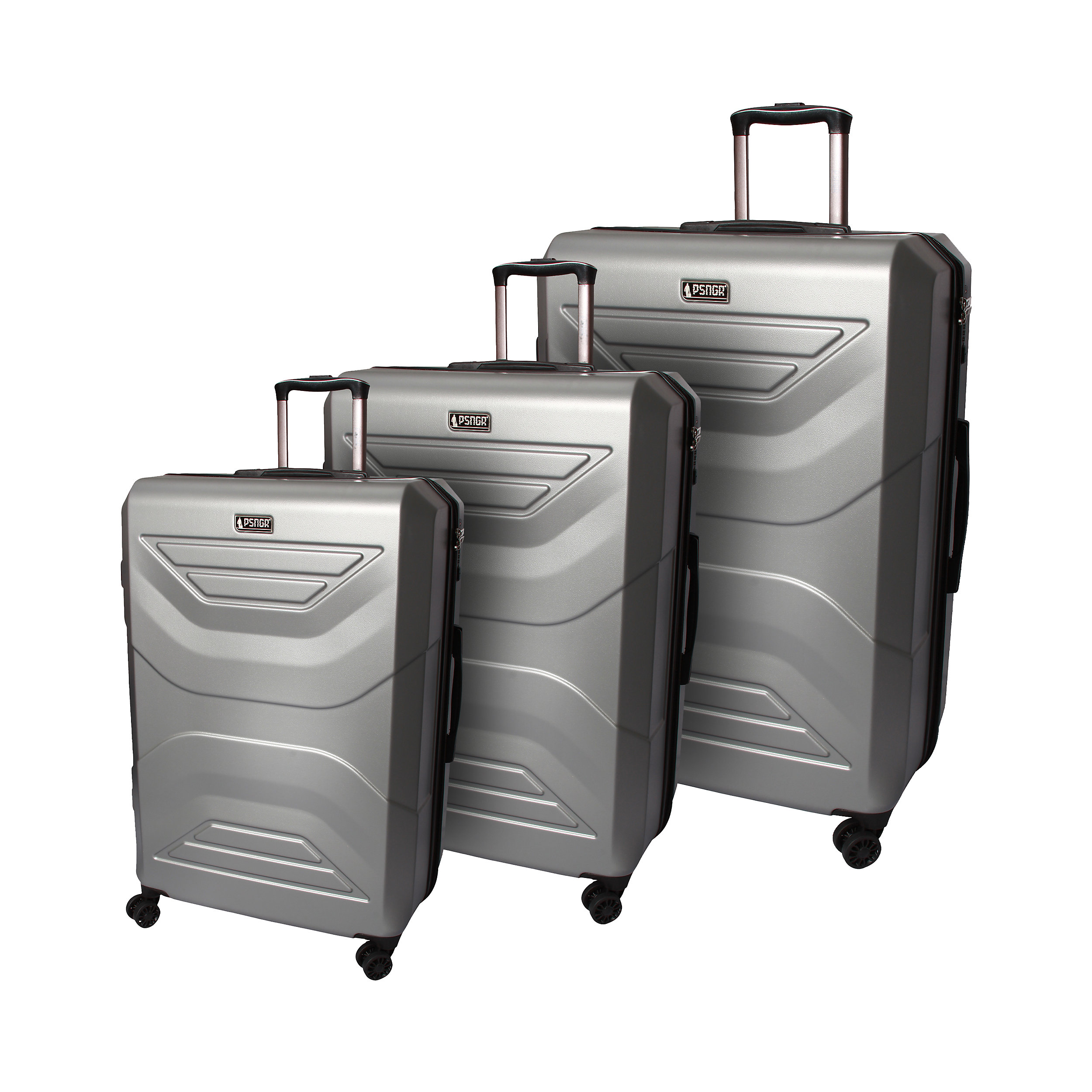 3-part Trolley Set with 4 wheels with 4 wheels 58/69/78 cm EXP Spirit S/M/L 211 Liter