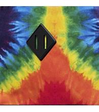 Rainbow Tie Dye Rubber [03561]