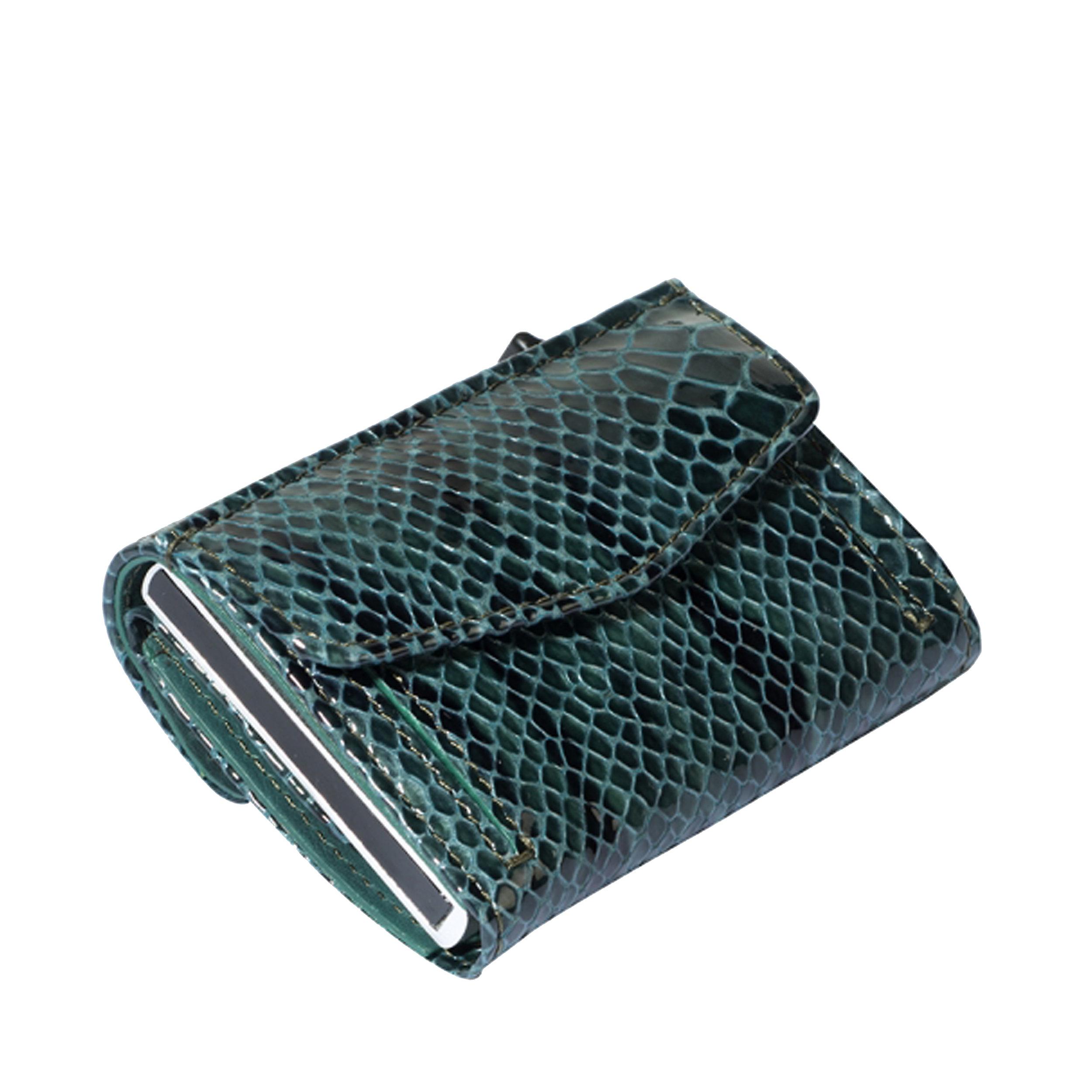 Kreditkartenetui Furbo 7KK RFID Pitone