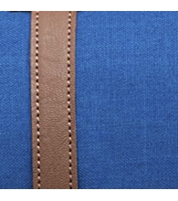 Monaco Blue Crosshatch/Tan Synthetic Leather [03262]