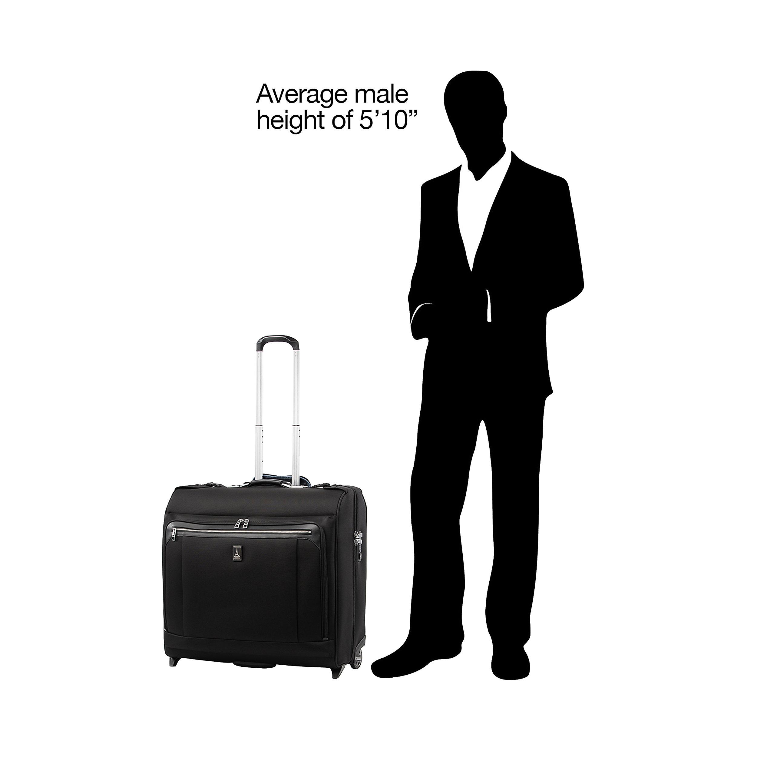 Kleidersack mit 2 Rollen auf Rollen Platinum Elite Large 95 Liter
