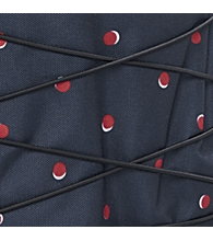 Navy Double Dots