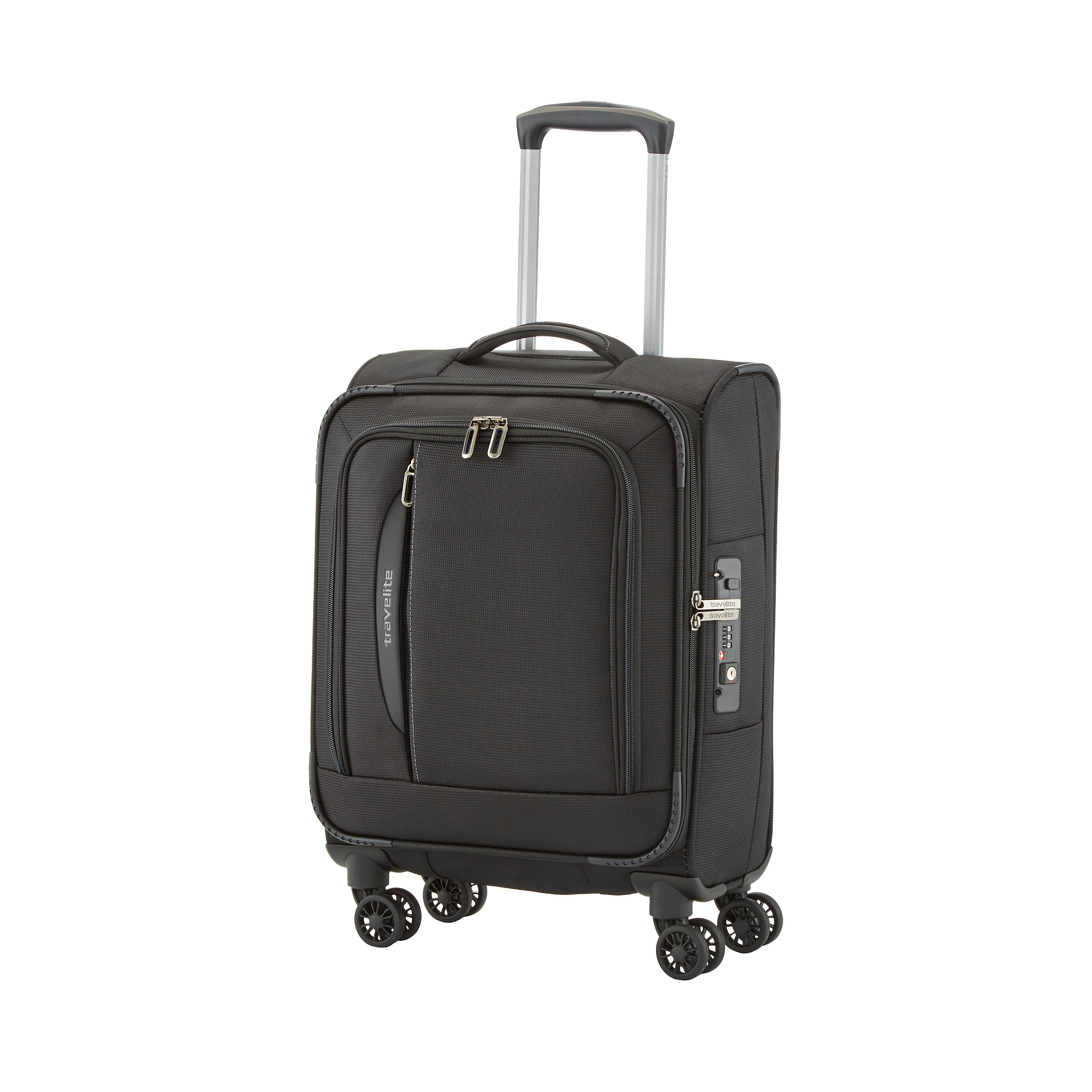 Carry-on Trolley with 4 wheels 55cm S CrossLite 39 Liter