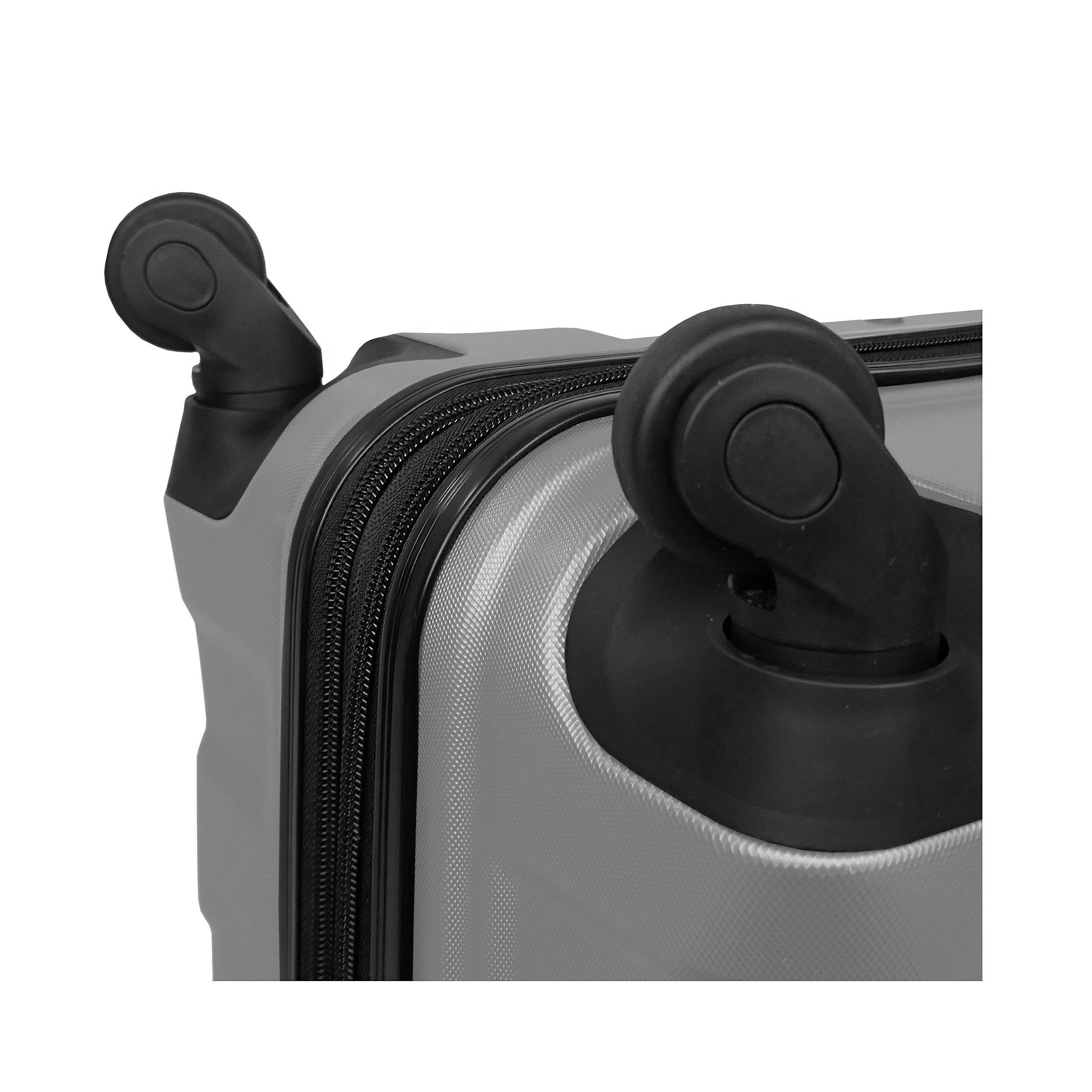 Trolley mit 4 Rollen mit 4 Rollen 66 cm EXP Chicago M 76 Liter