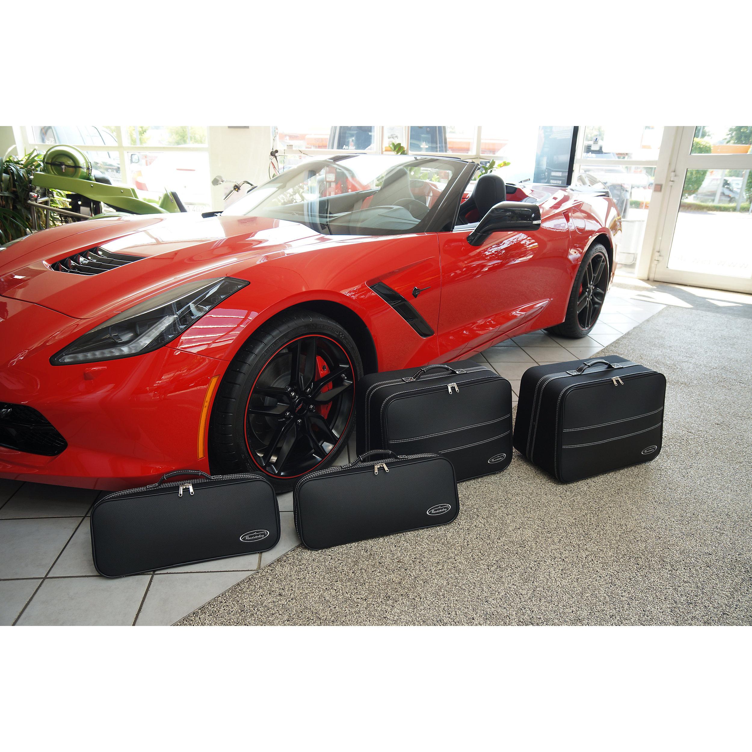 4-tlg. Kofferset Chevrolet Corvette C7 Cabrio 121 Liter