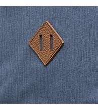 Blue Mirage Crosshatch Rubber [03513]