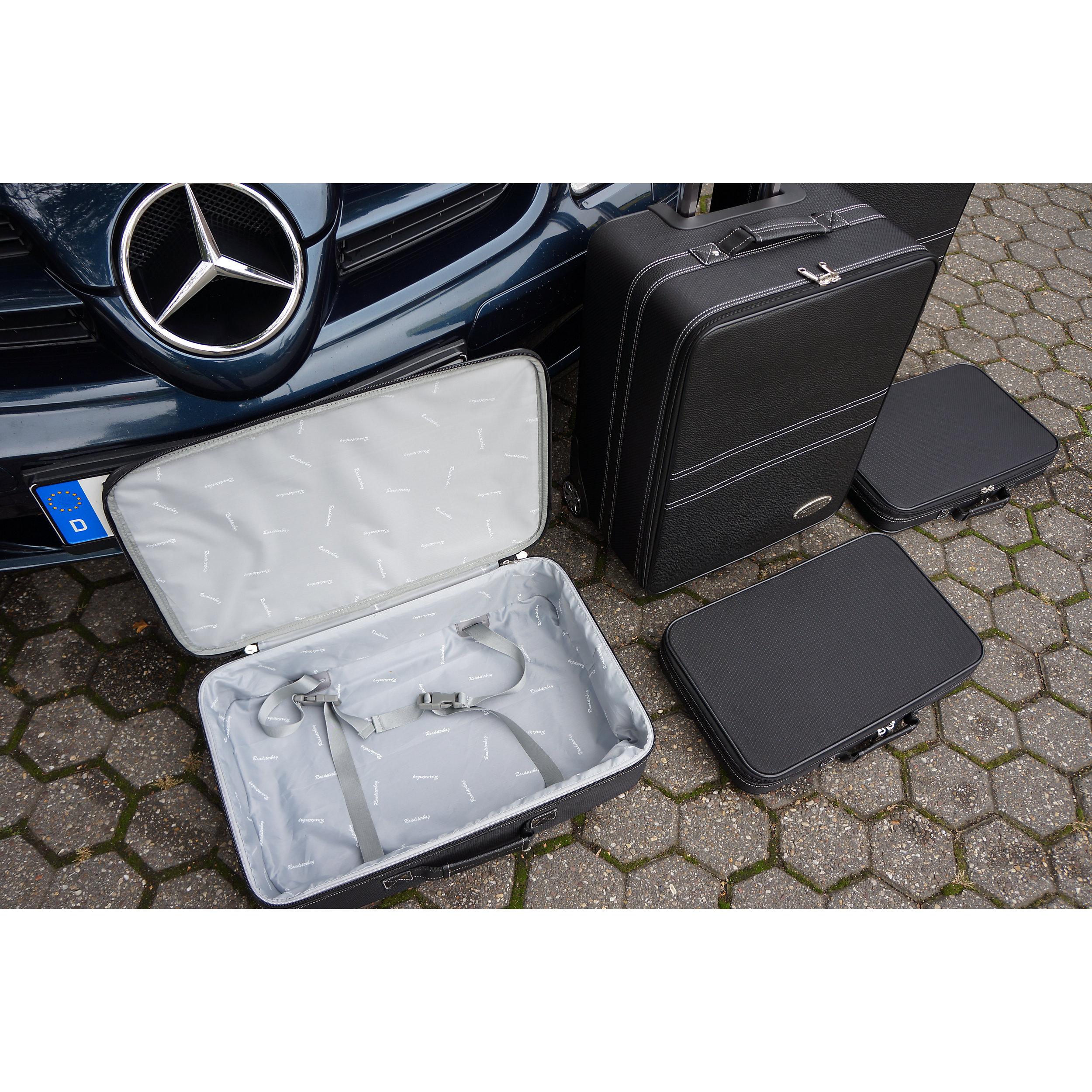 5-tlg. Kofferset mit 2 Rollen Mercedes SLK (R171) 148 Liter
