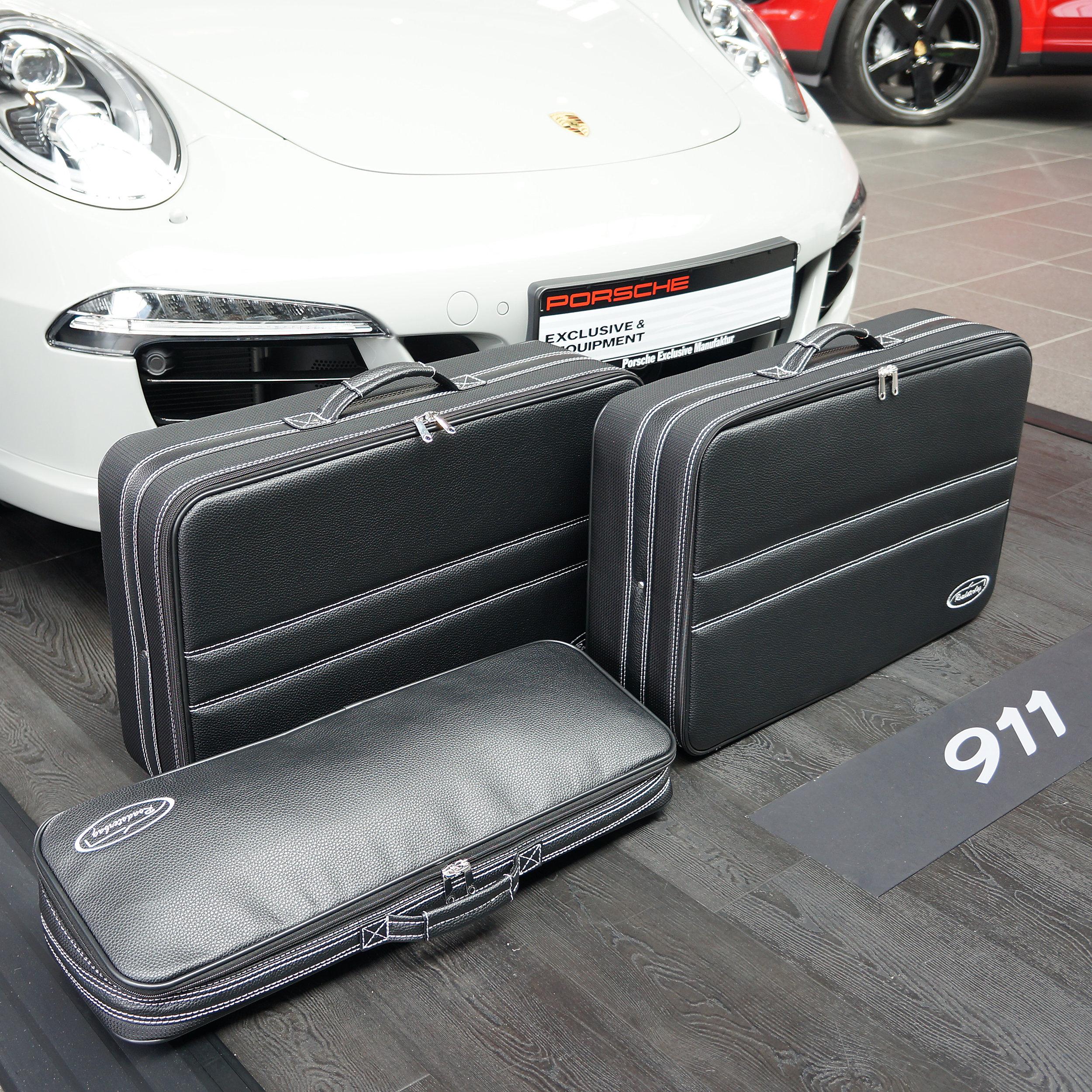 3-tlg. Kofferset Porsche 911 (991) Allrad/Turbo 101 Liter