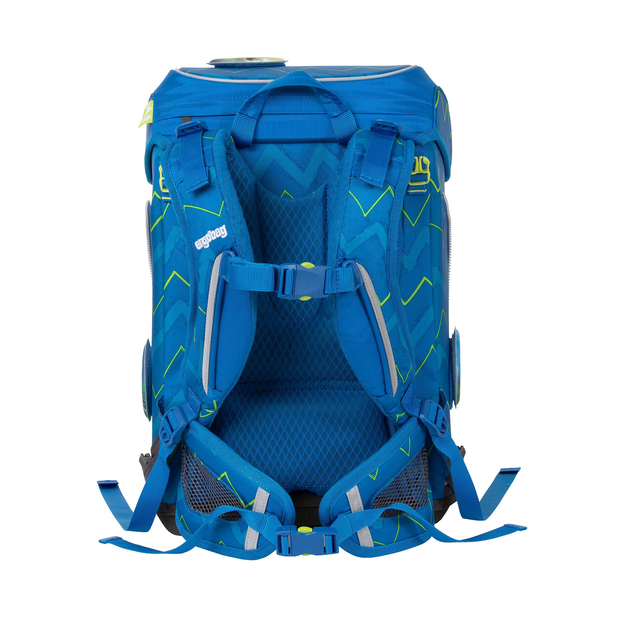 5-part School Backpack Set Cubo Light 19 Liter