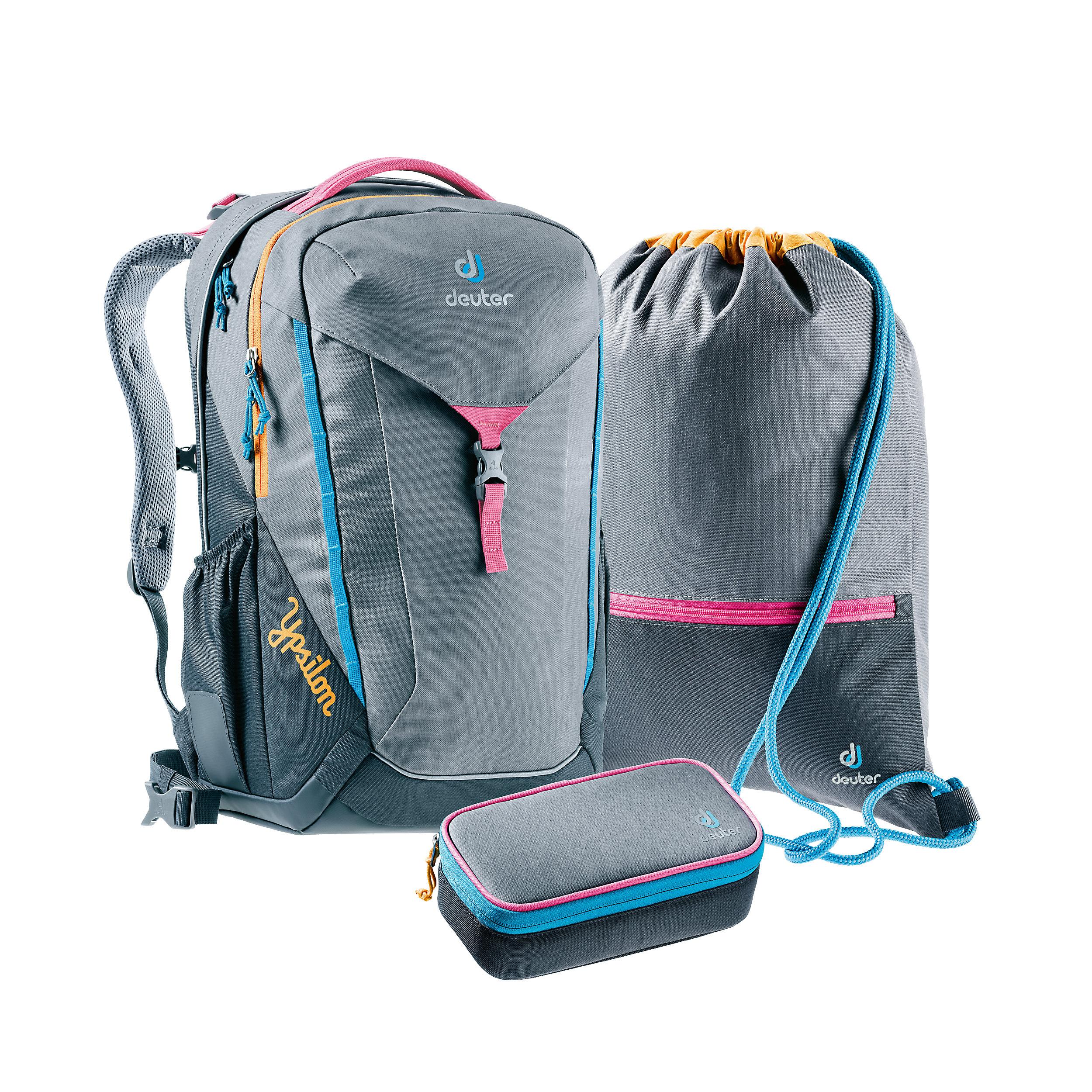 3-part School Backpack Set Ypsilon Pop Art L 28 Liter