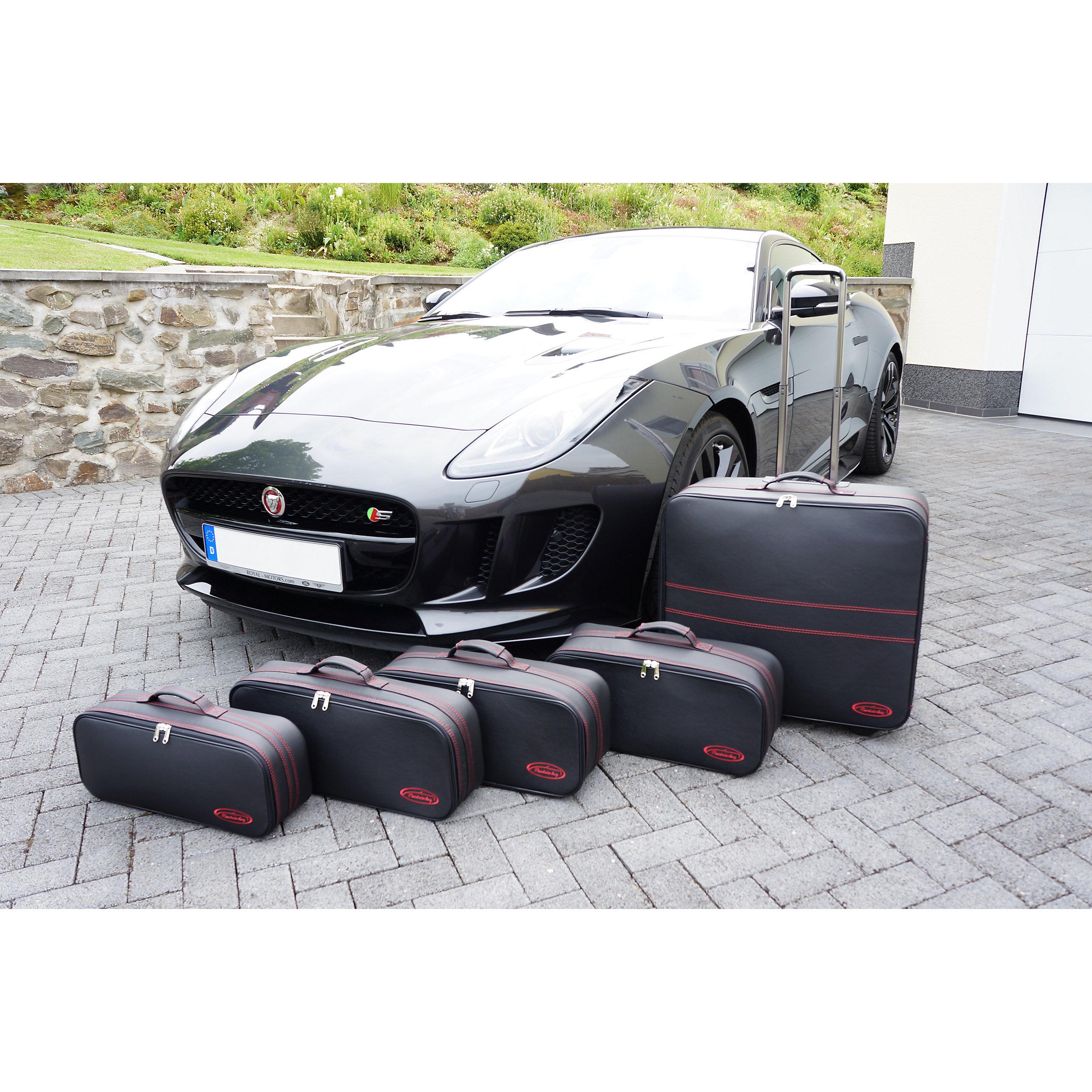 5-part Luggage Set with 2 wheels Jaguar F-Type Coupé XXL