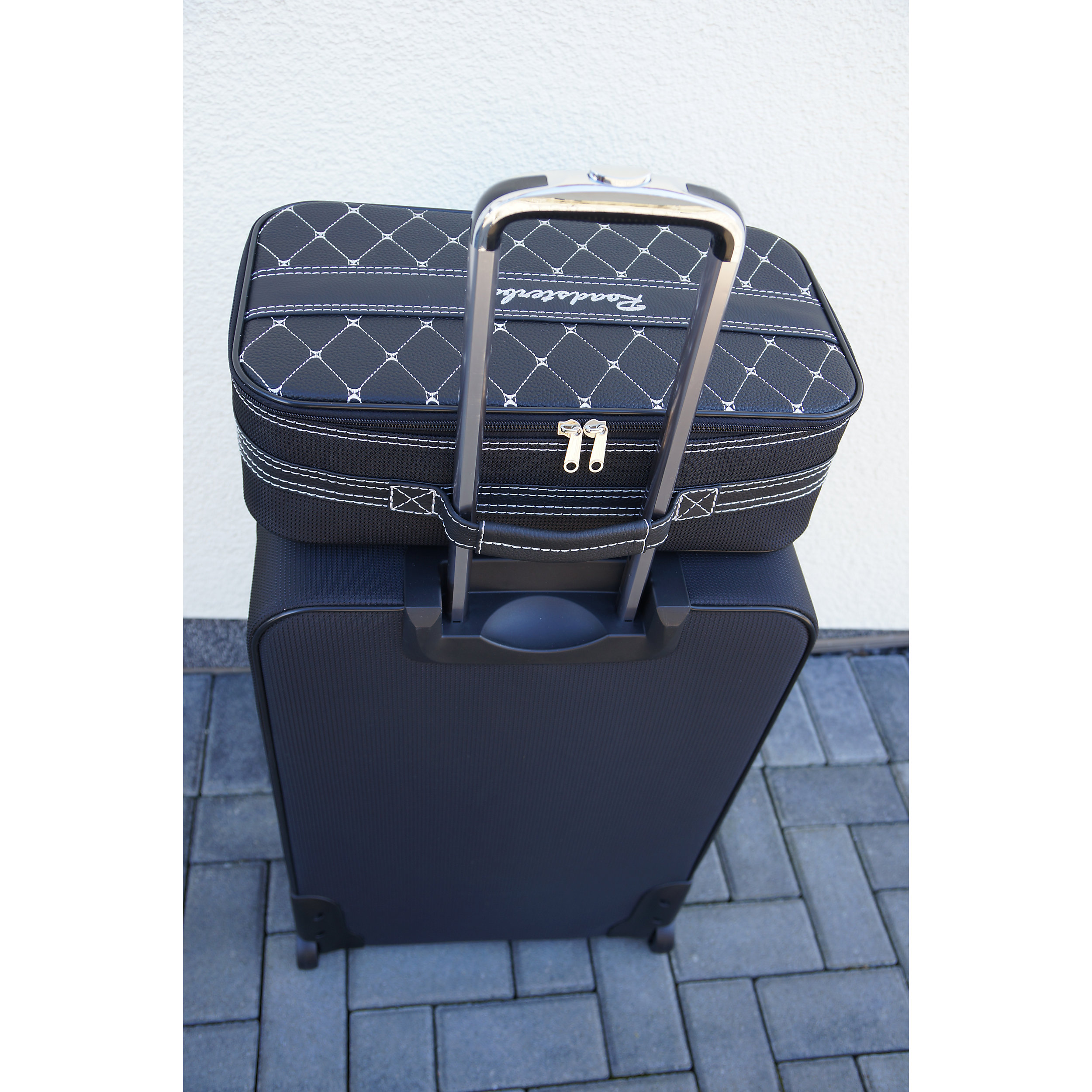 4-tlg. Kofferset mit 2 Rollen Mercedes E-Klasse Coupé 220 Liter