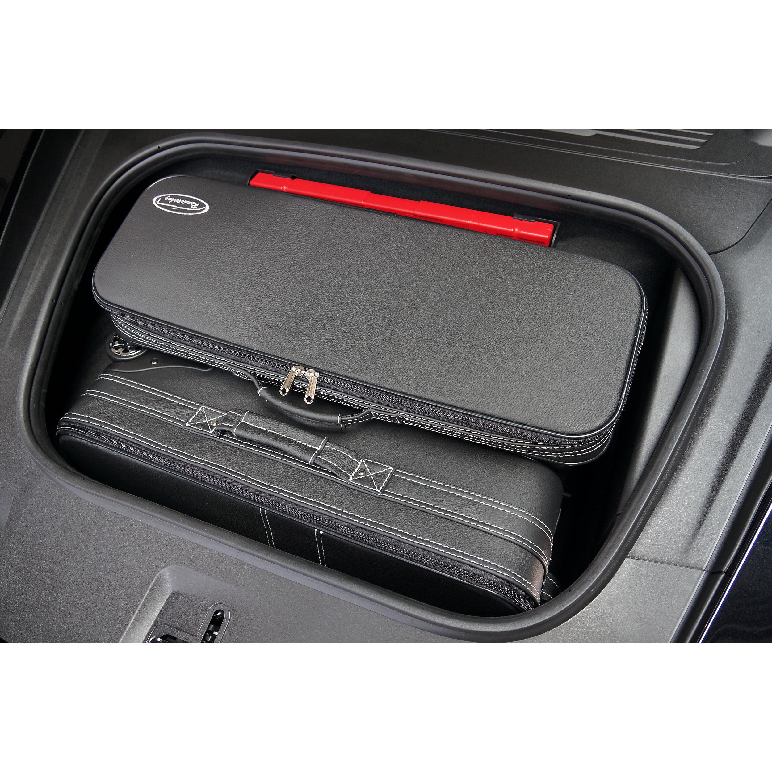 3-tlg. Kofferset mit 2 Rollen Porsche 911 (992) Cabrio + Coupé Front 103 Liter