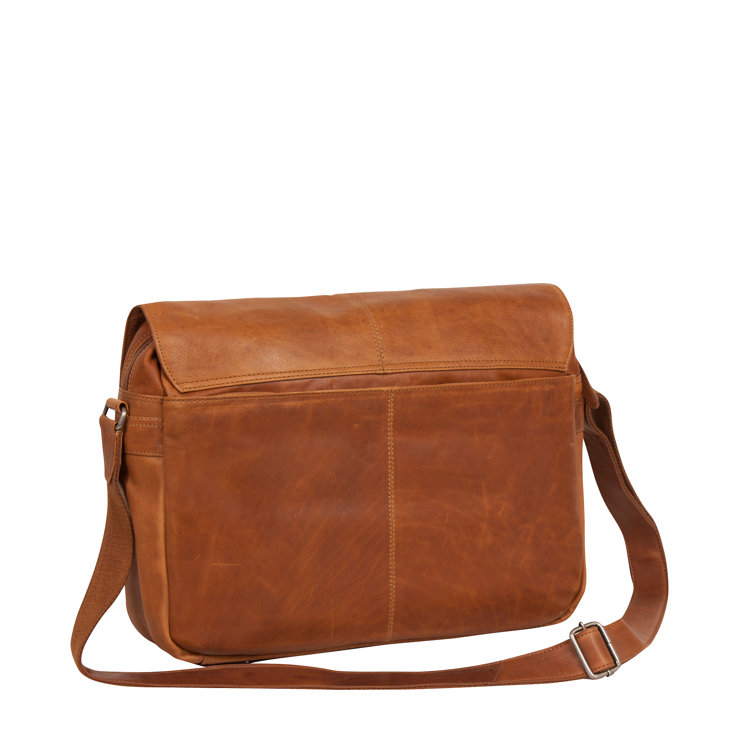 """Messenger Bag Richard 15,4"""" Cow Wax Pull Up Collection"""