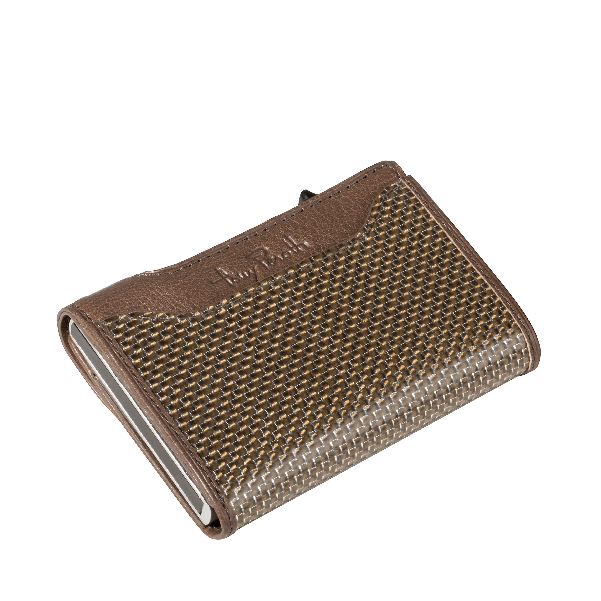 Kreditkartenetui Furbo 8KK RFID Titanium