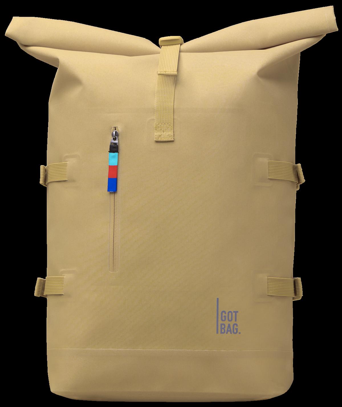 Rucksack Rolltop 15 Zoll L 30 Liter - Sand