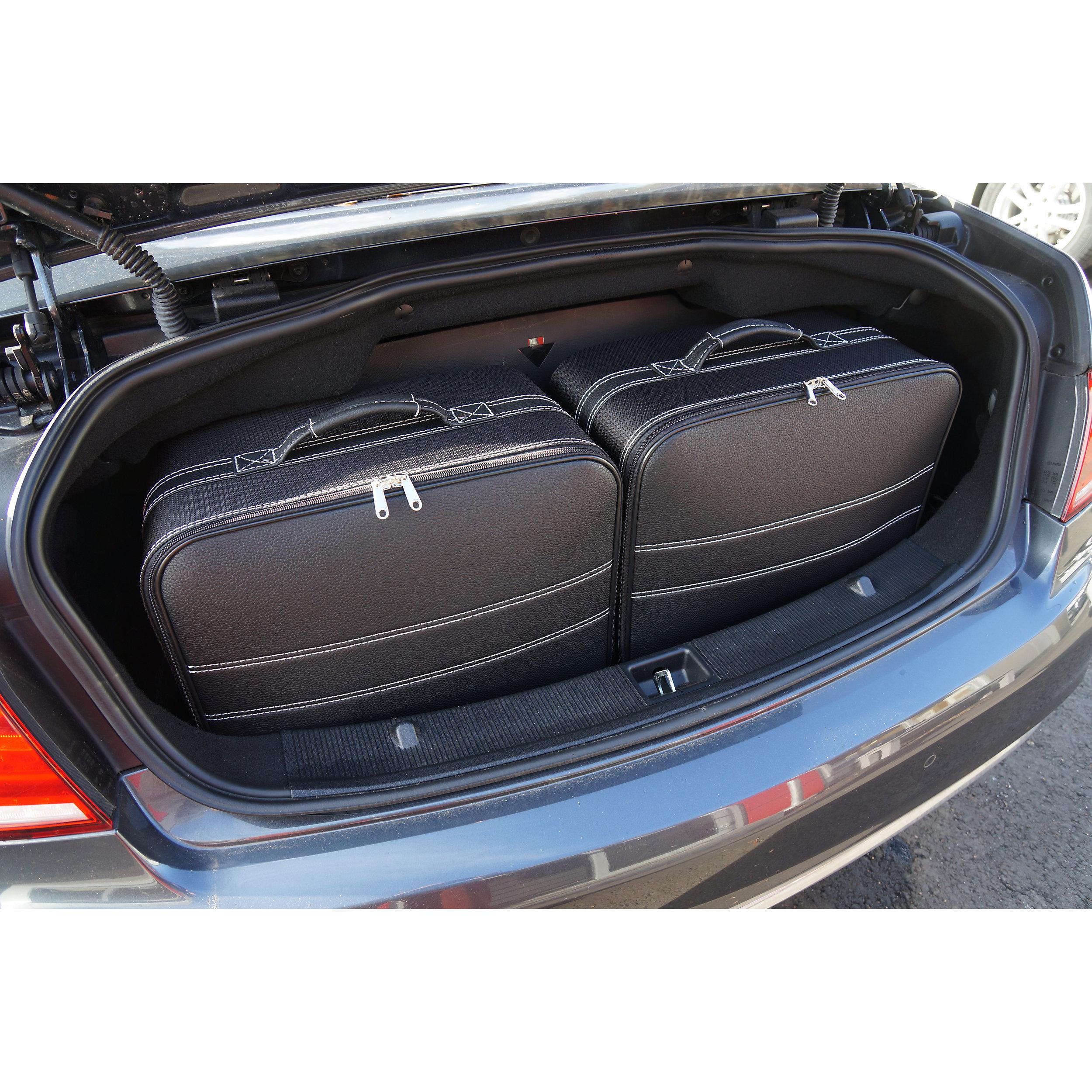 5-tlg. Kofferset mit 2 Rollen Mercedes E-Klasse Cabrio (A207) 155 Liter