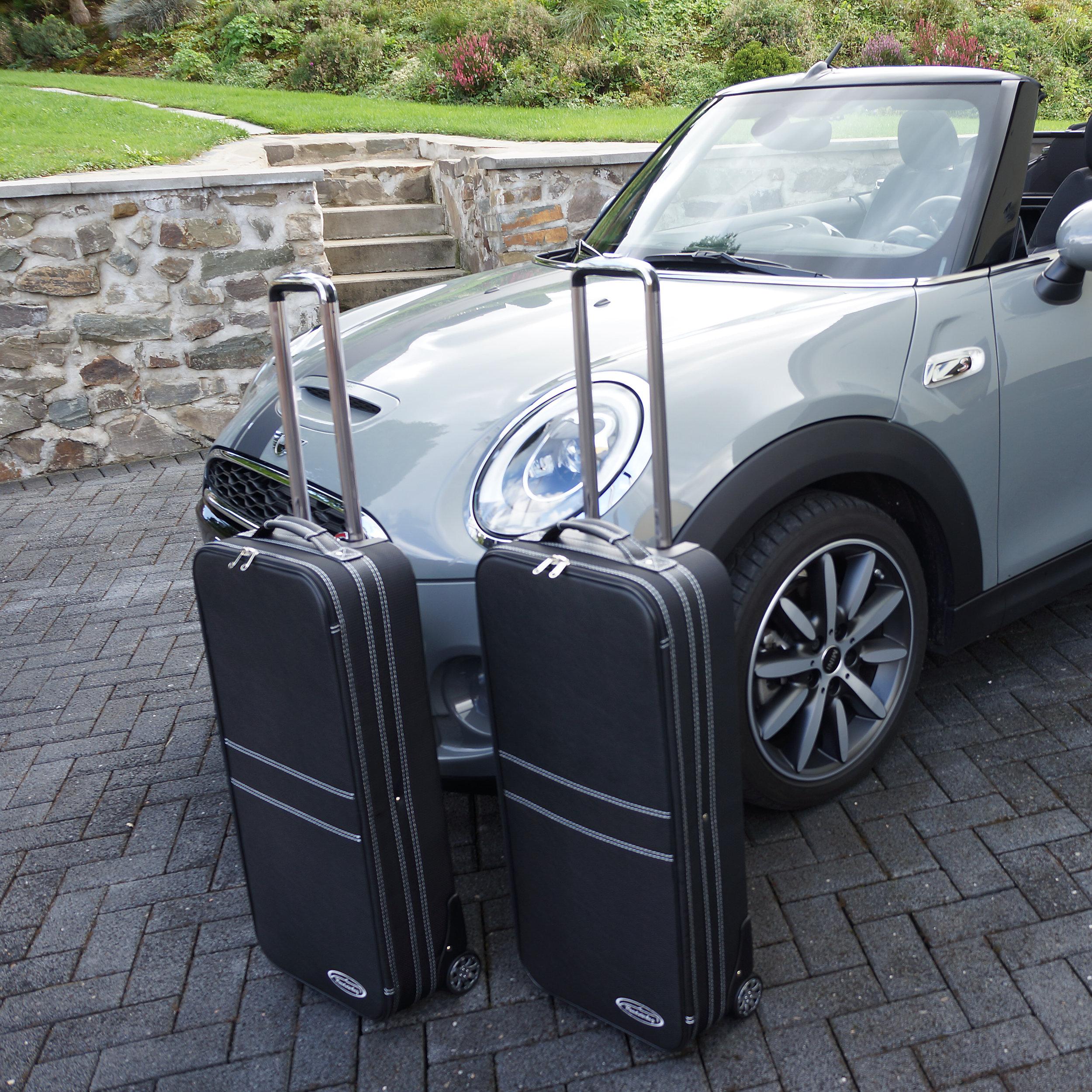 2-part Luggage Set with 2 wheels Mini Cabrio (F57) XXL