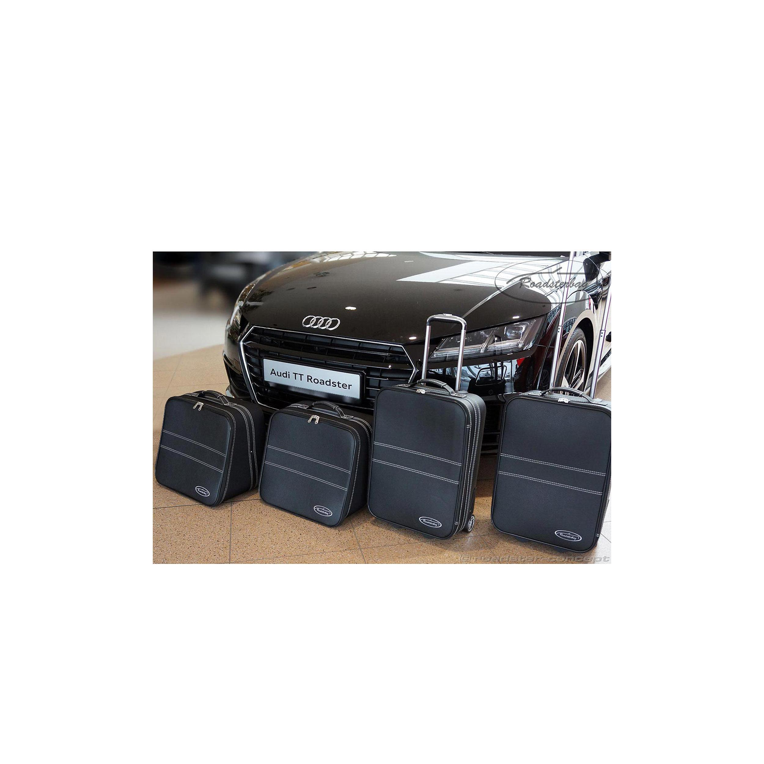 5-tlg. Kofferset mit 2 Rollen Audi TT 8S Quattro/nicht Quattro 124 Liter