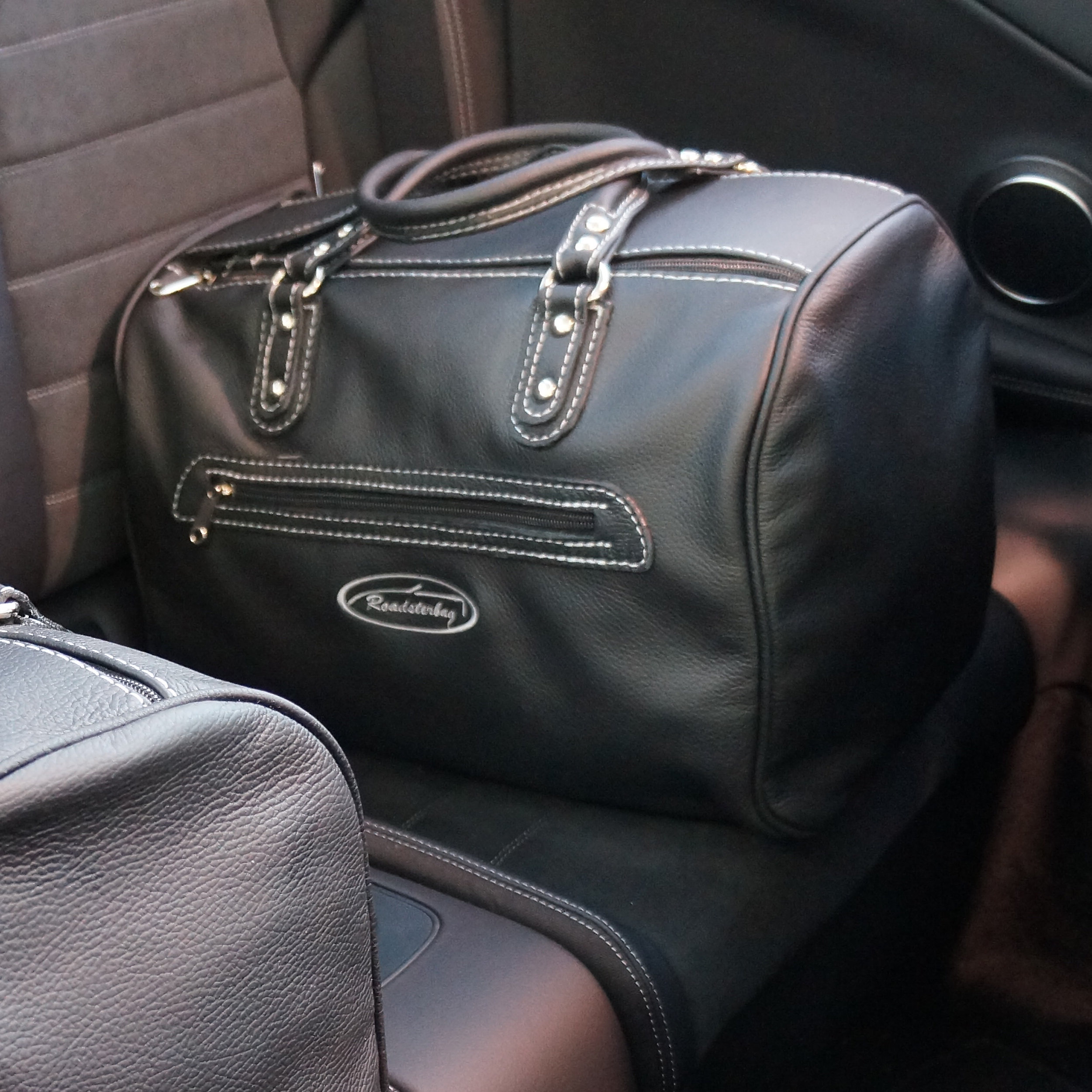 Rücksitztasche Mercedes Kunstleder