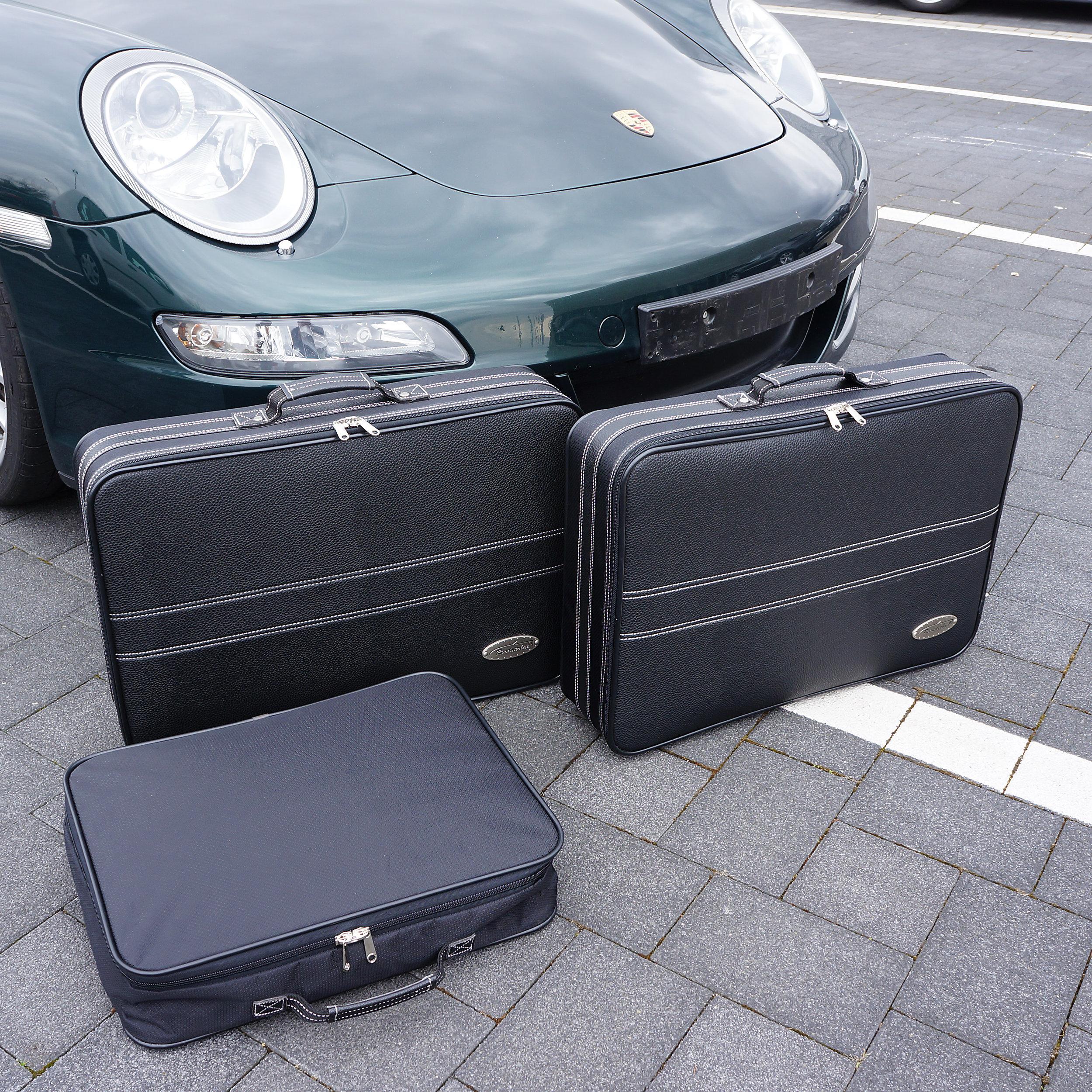 3-tlg. Kofferset Porsche 911 (996 ohne Allrad) 92 Liter
