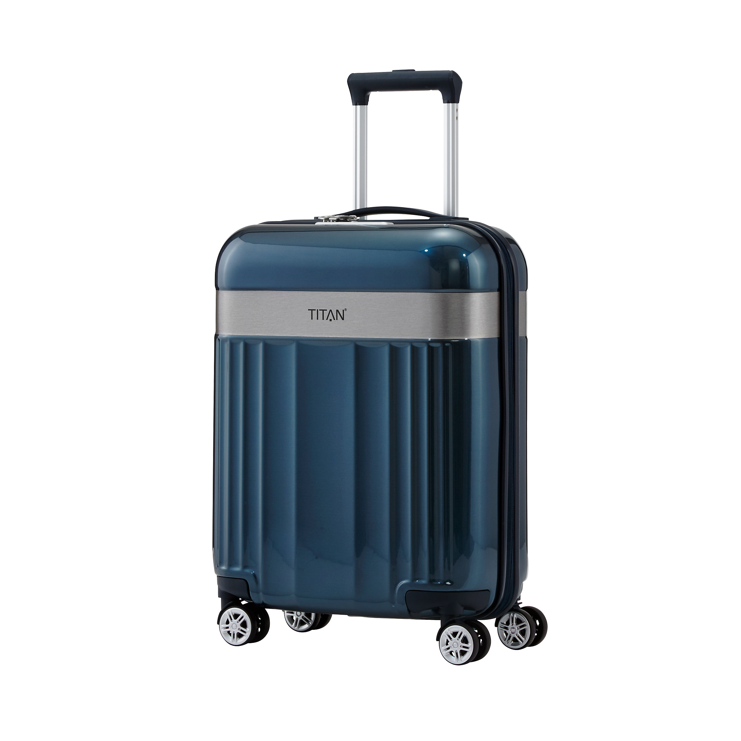 Carry-on with 4 wheels S 55 cm Spotlight Flash 37 Liter